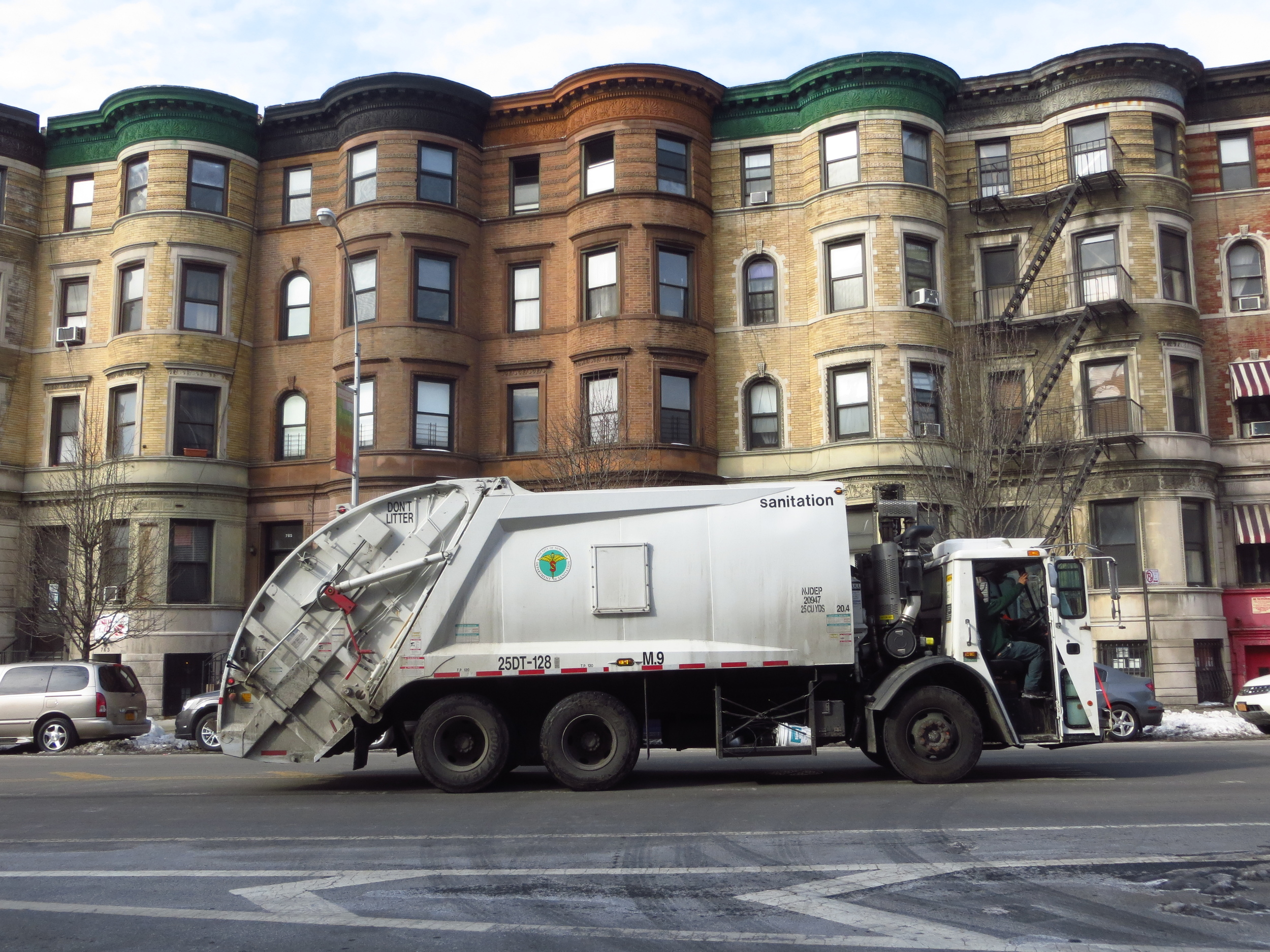 Portrait of a Garbage Truck