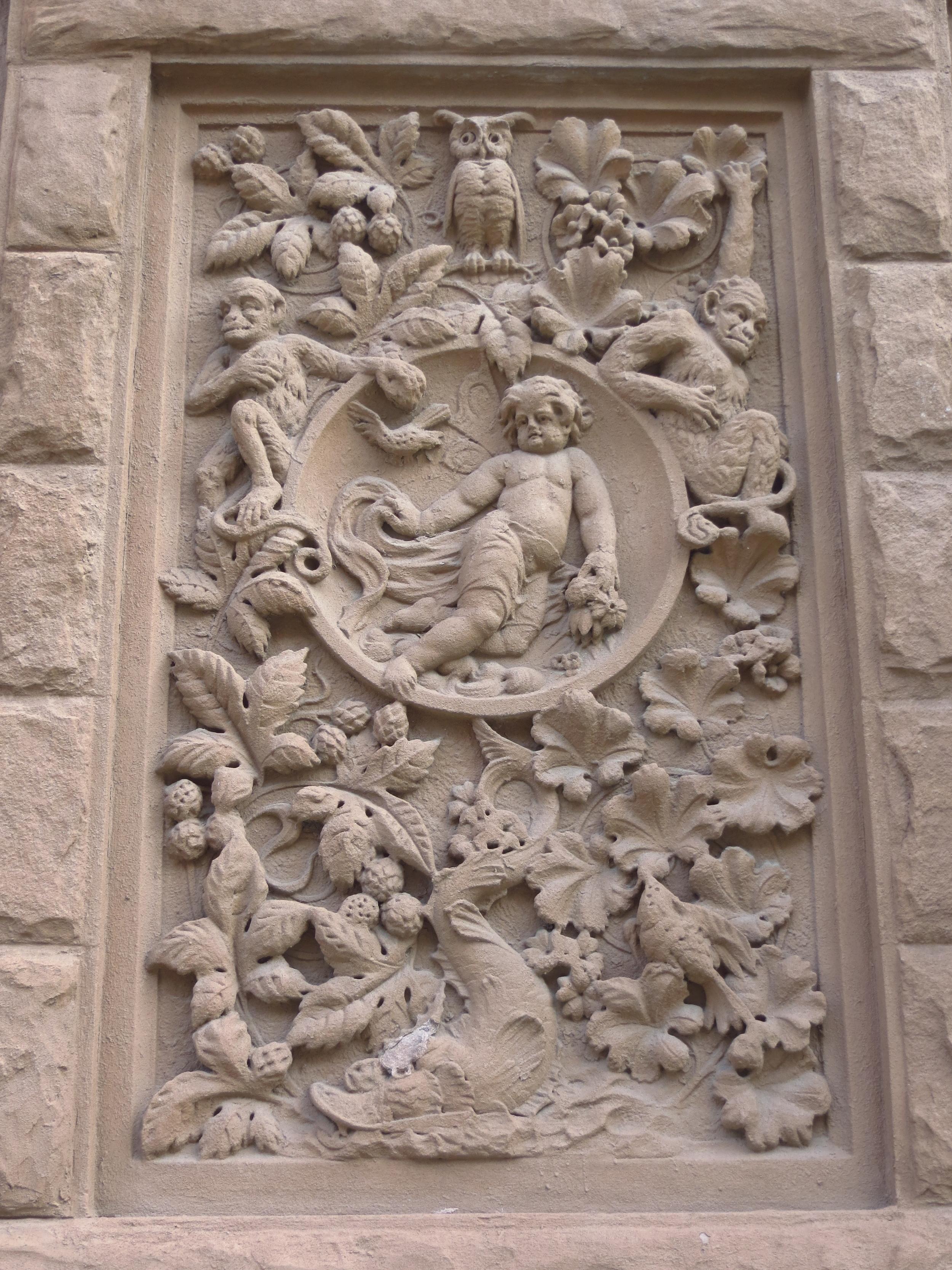 Child and Monkeys
