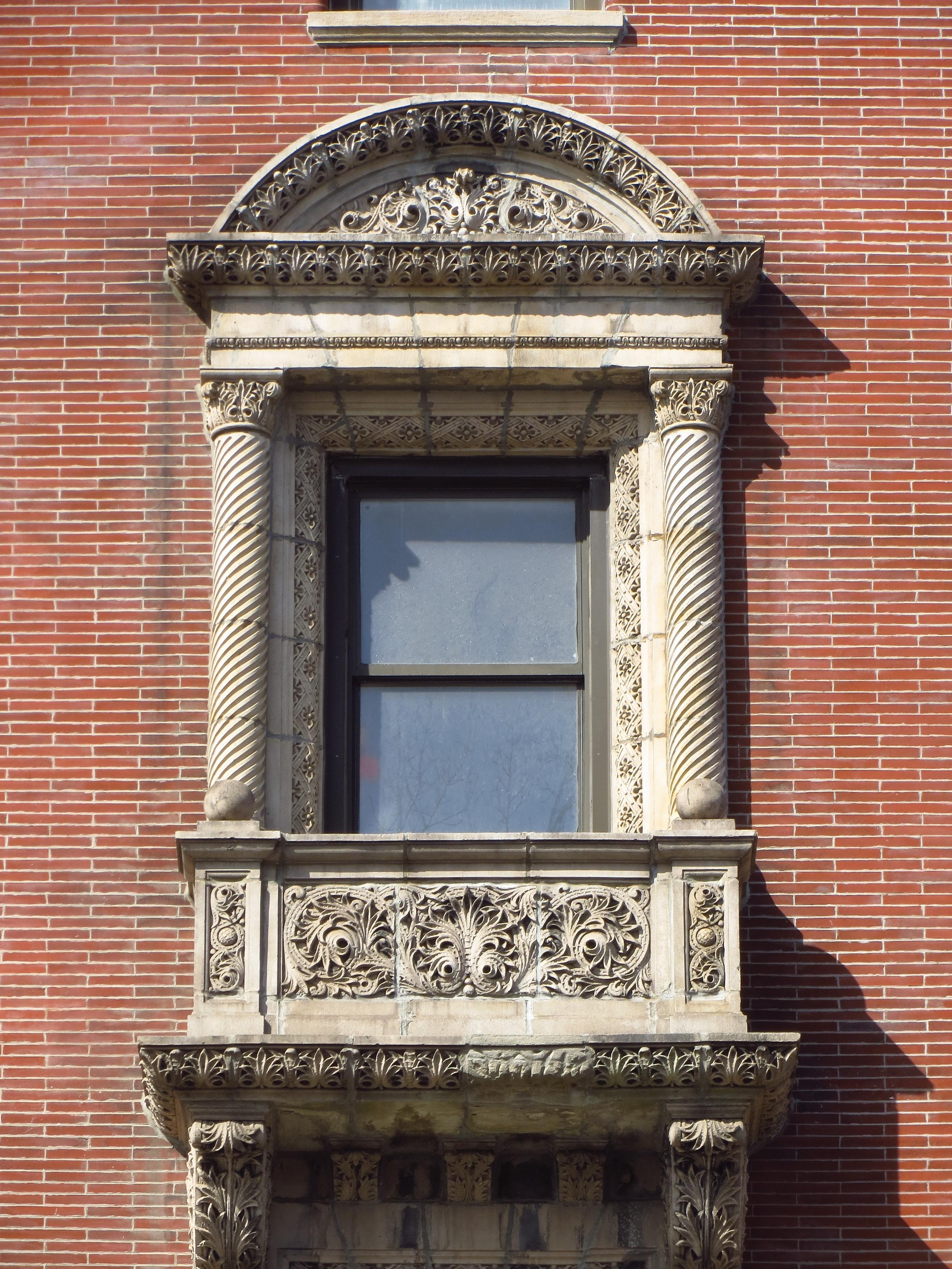 Cool window ornamentation