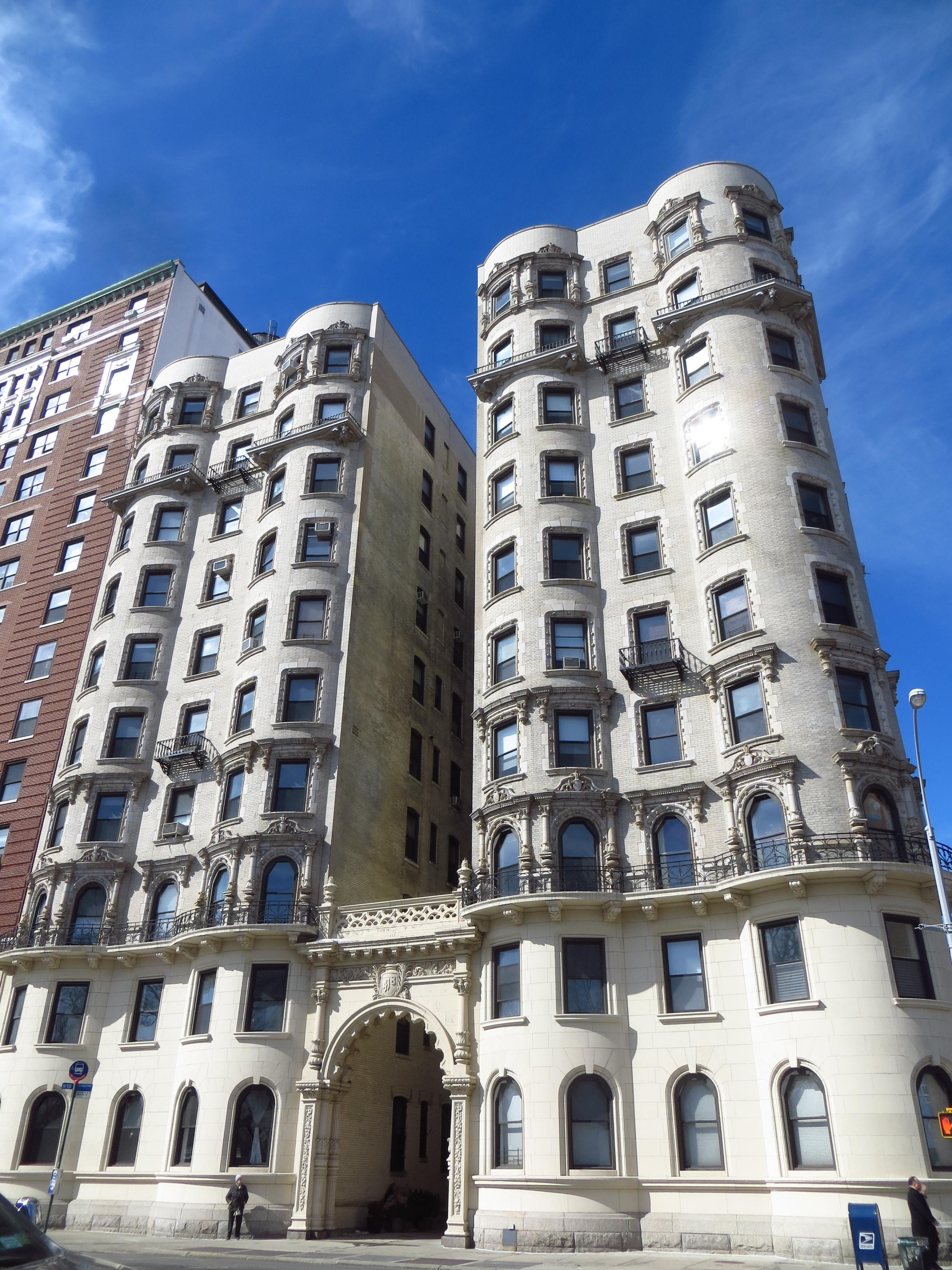 Beautiful apartment building