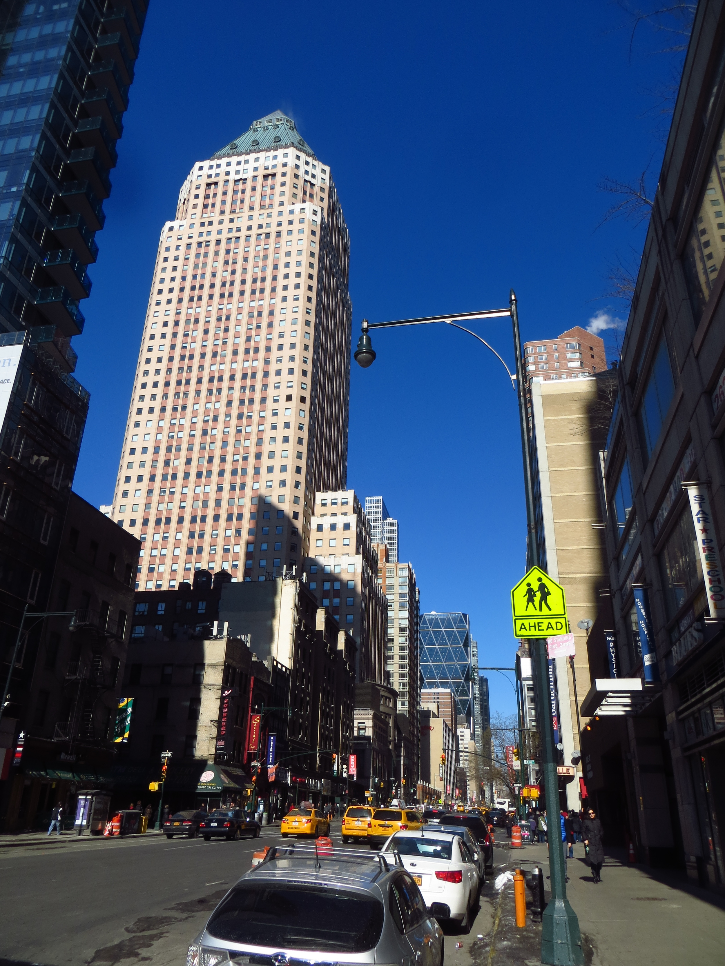 View up 8th Avenue