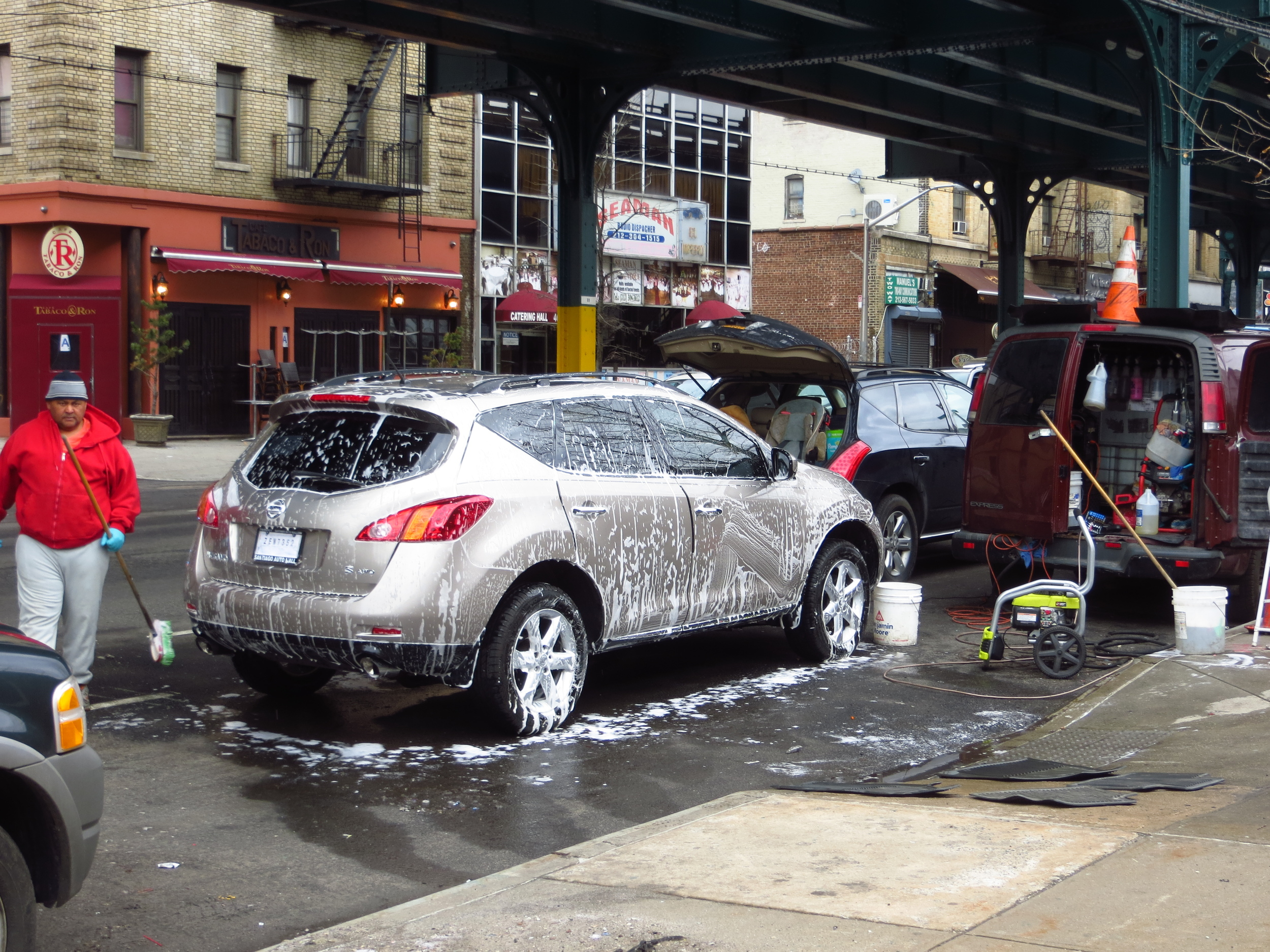 Ad hoc Car Wash