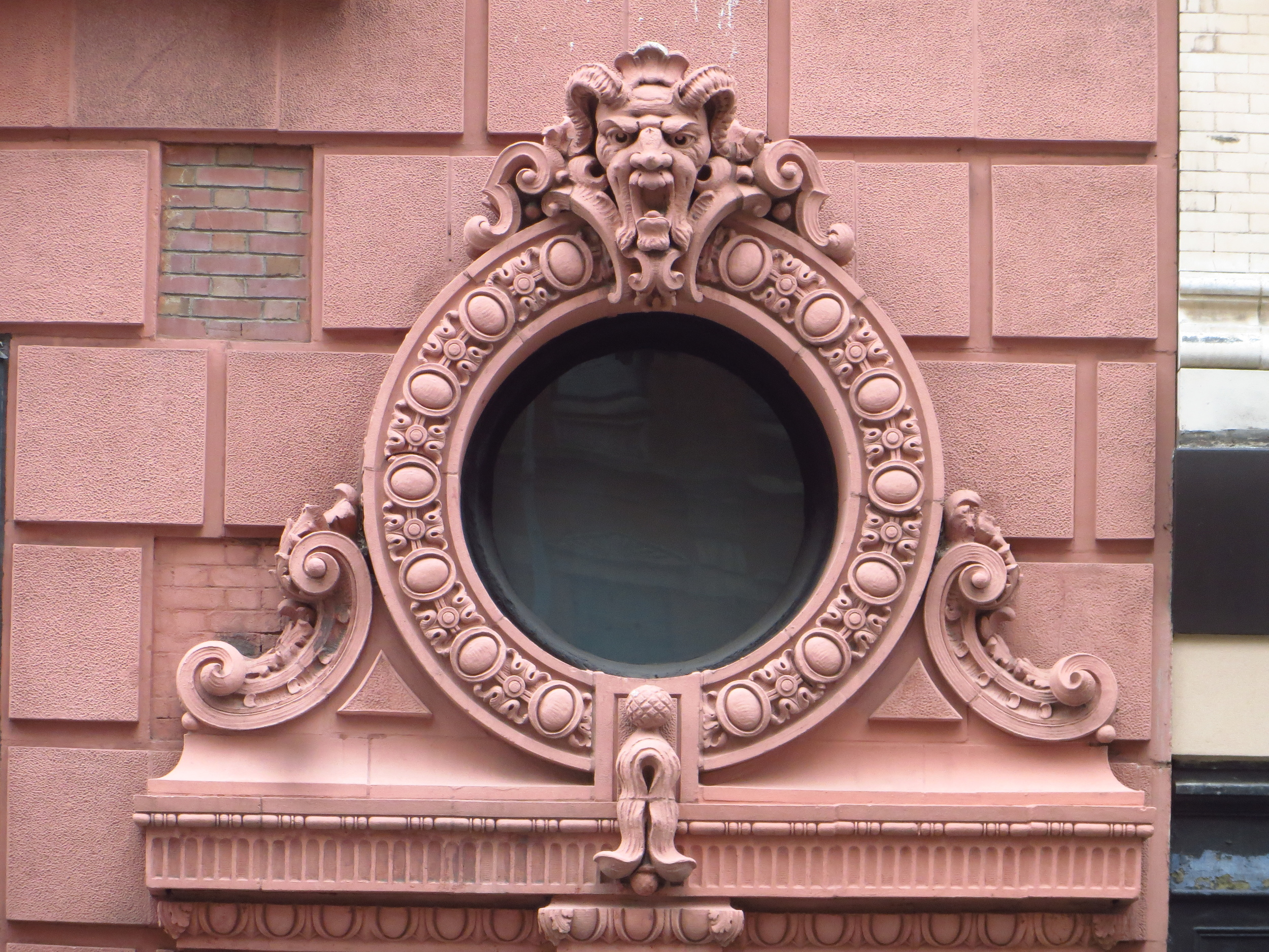 Window and face
