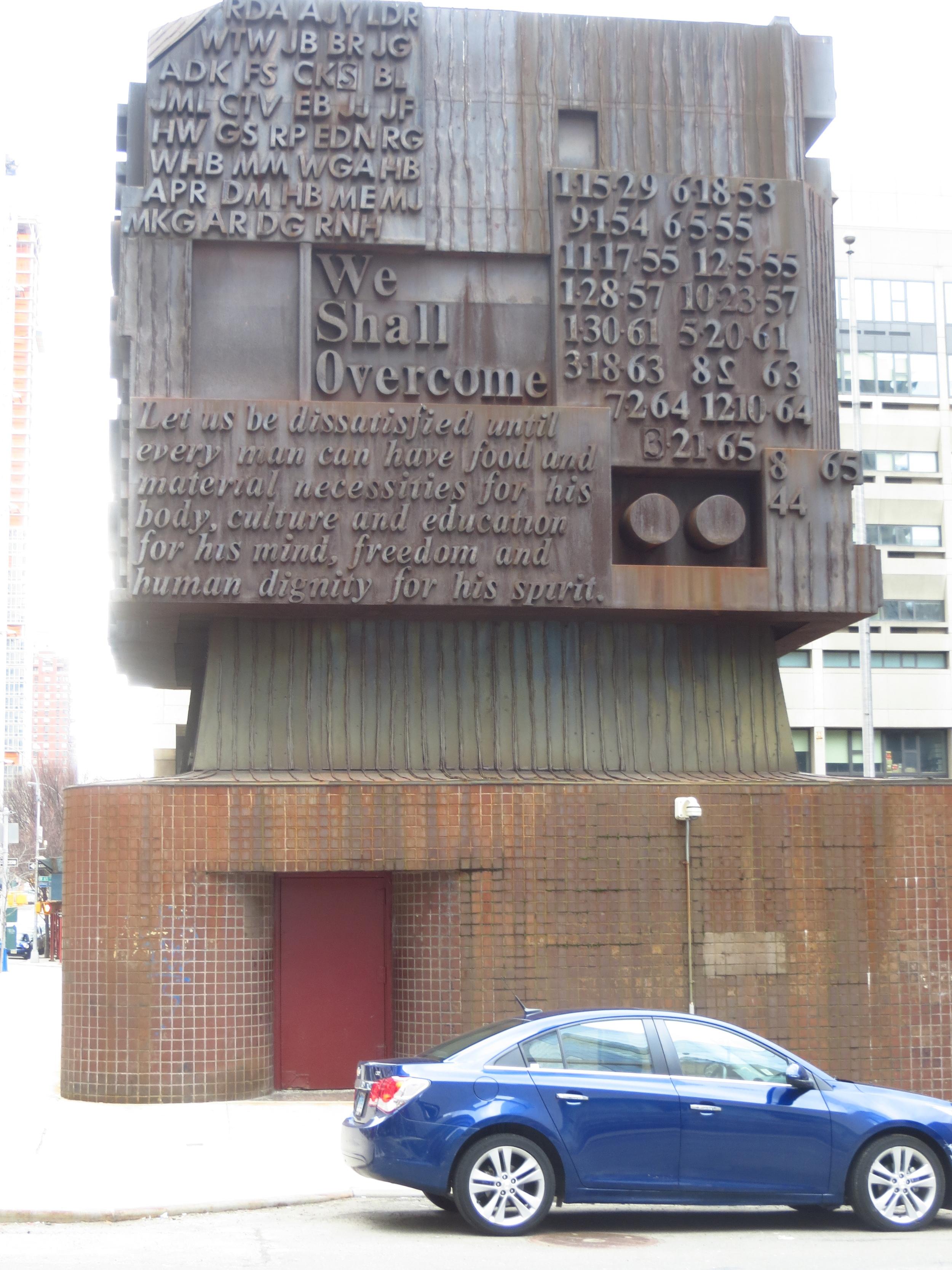 Confusing monument