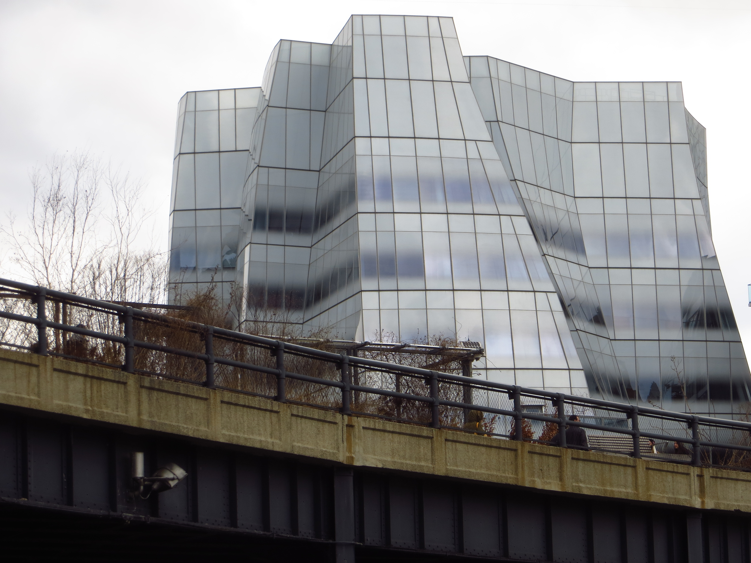 Gehry Building and High Line