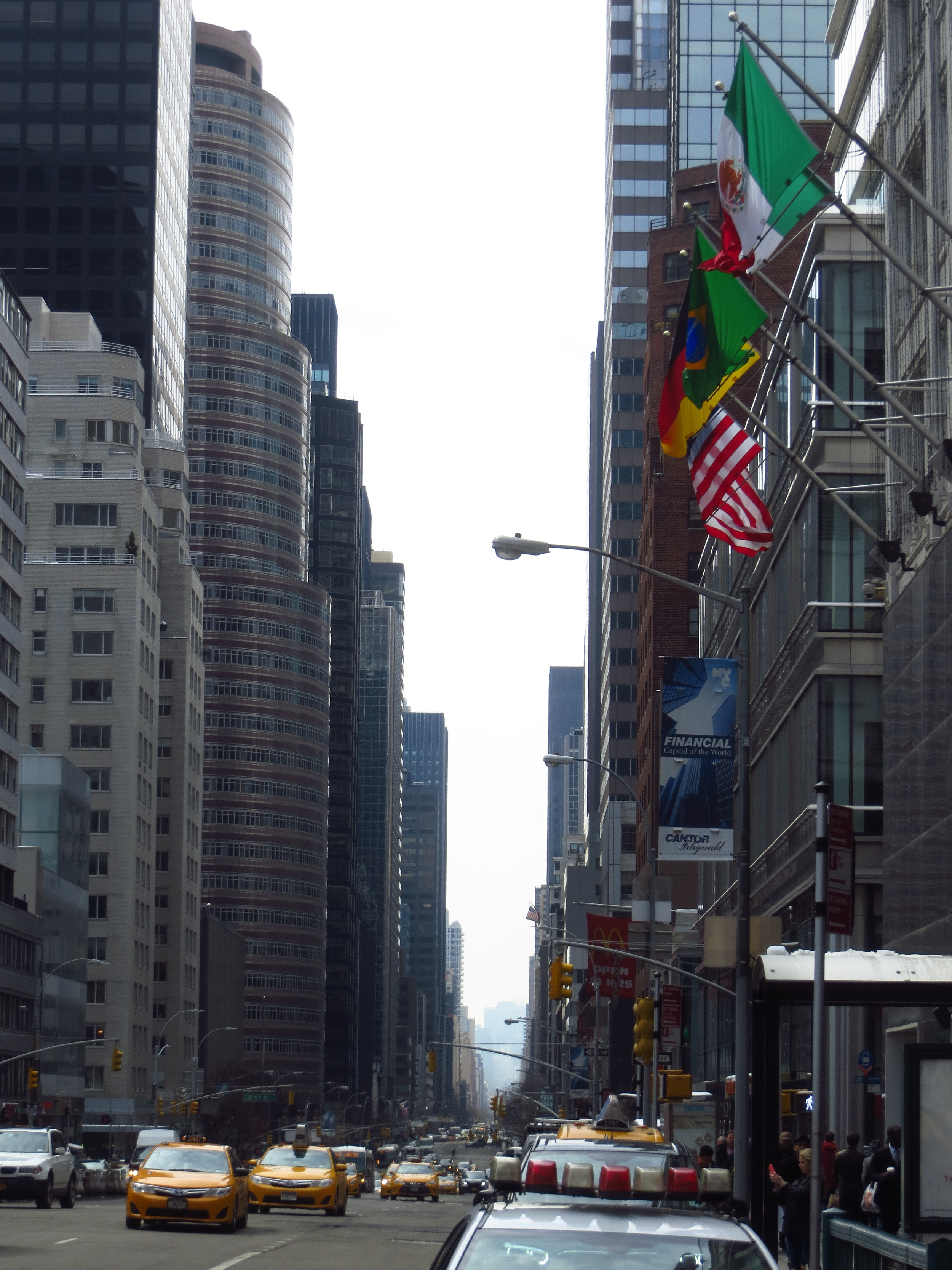 View down 3rd Ave.