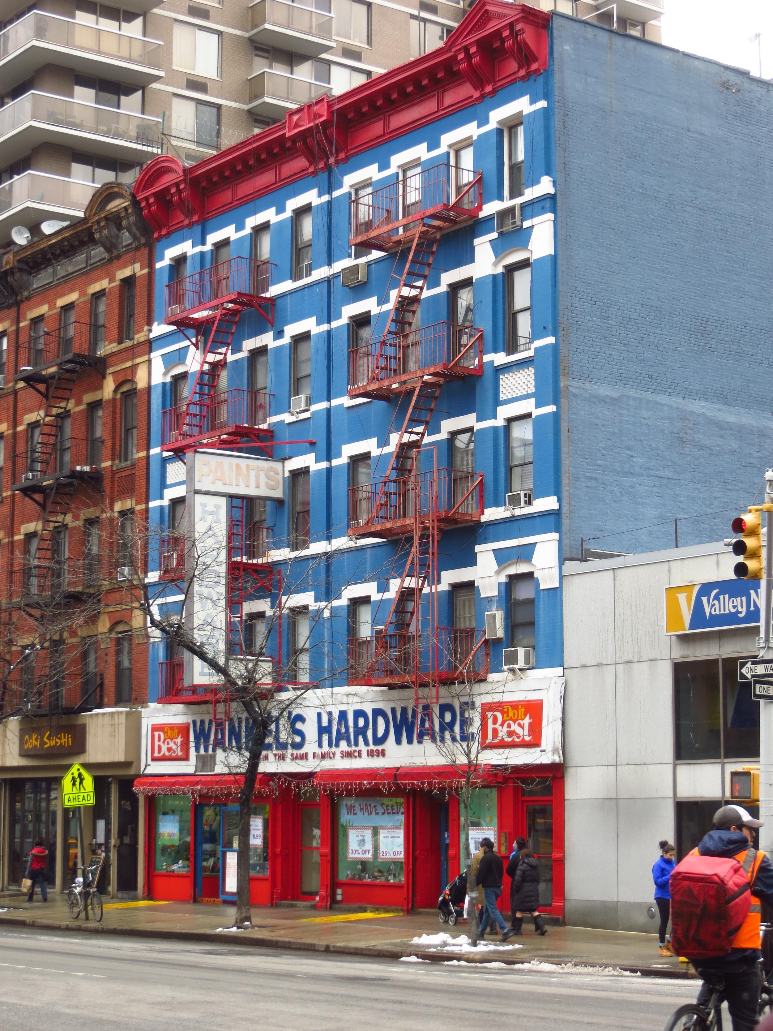 Blue Hardware Store