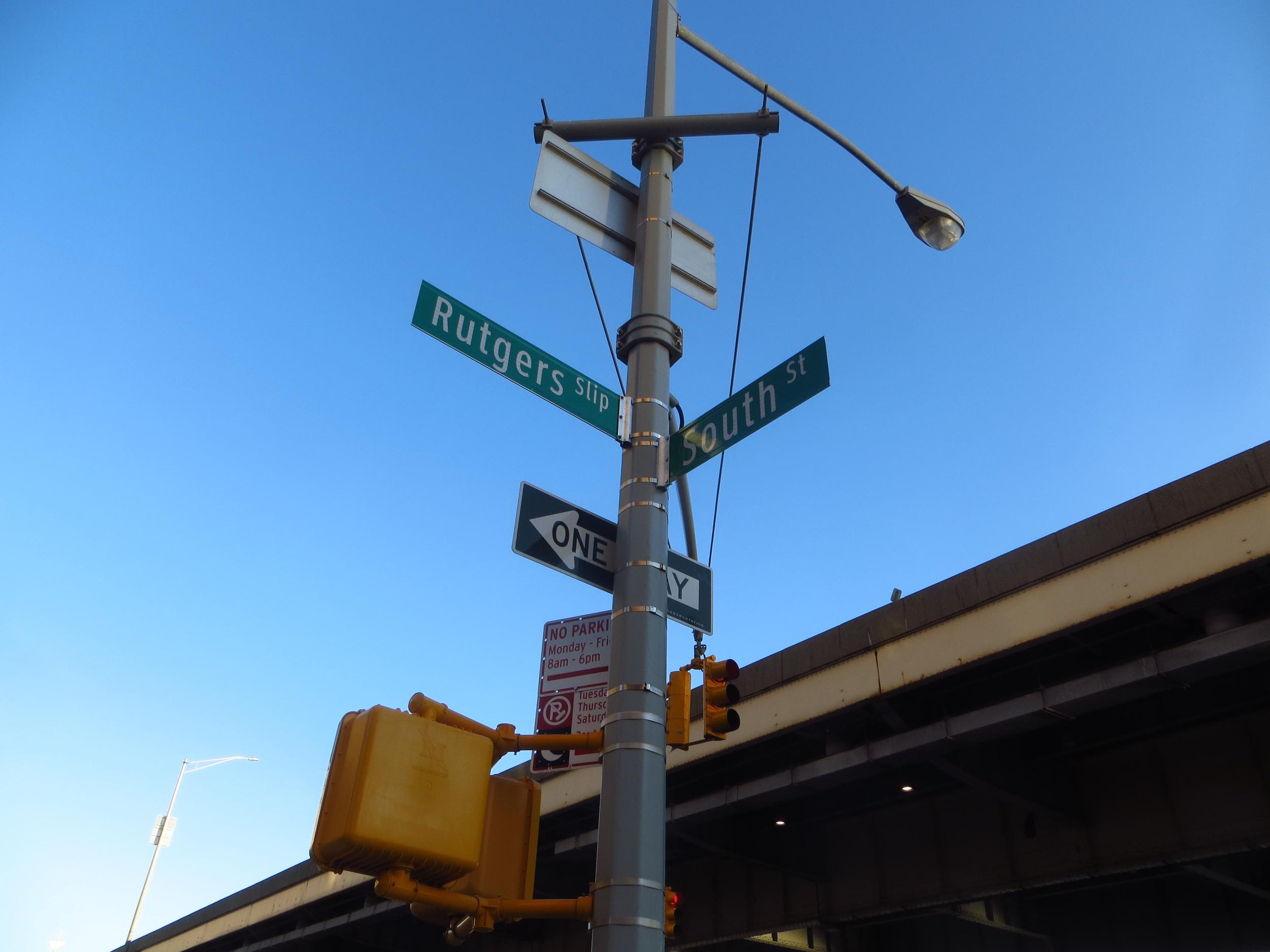 Start of Alphabet City walk