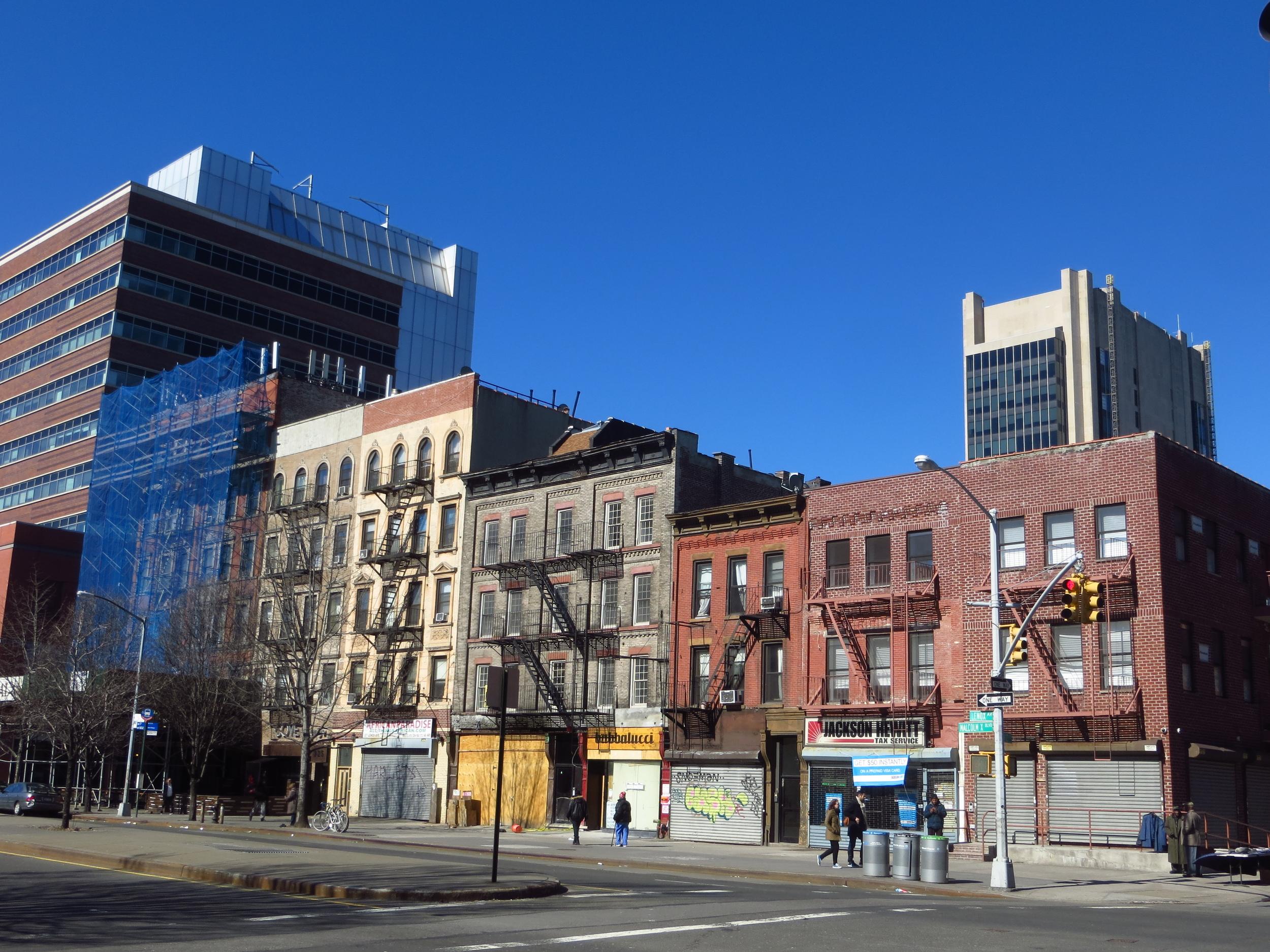 6th Ave. Block in Harlem
