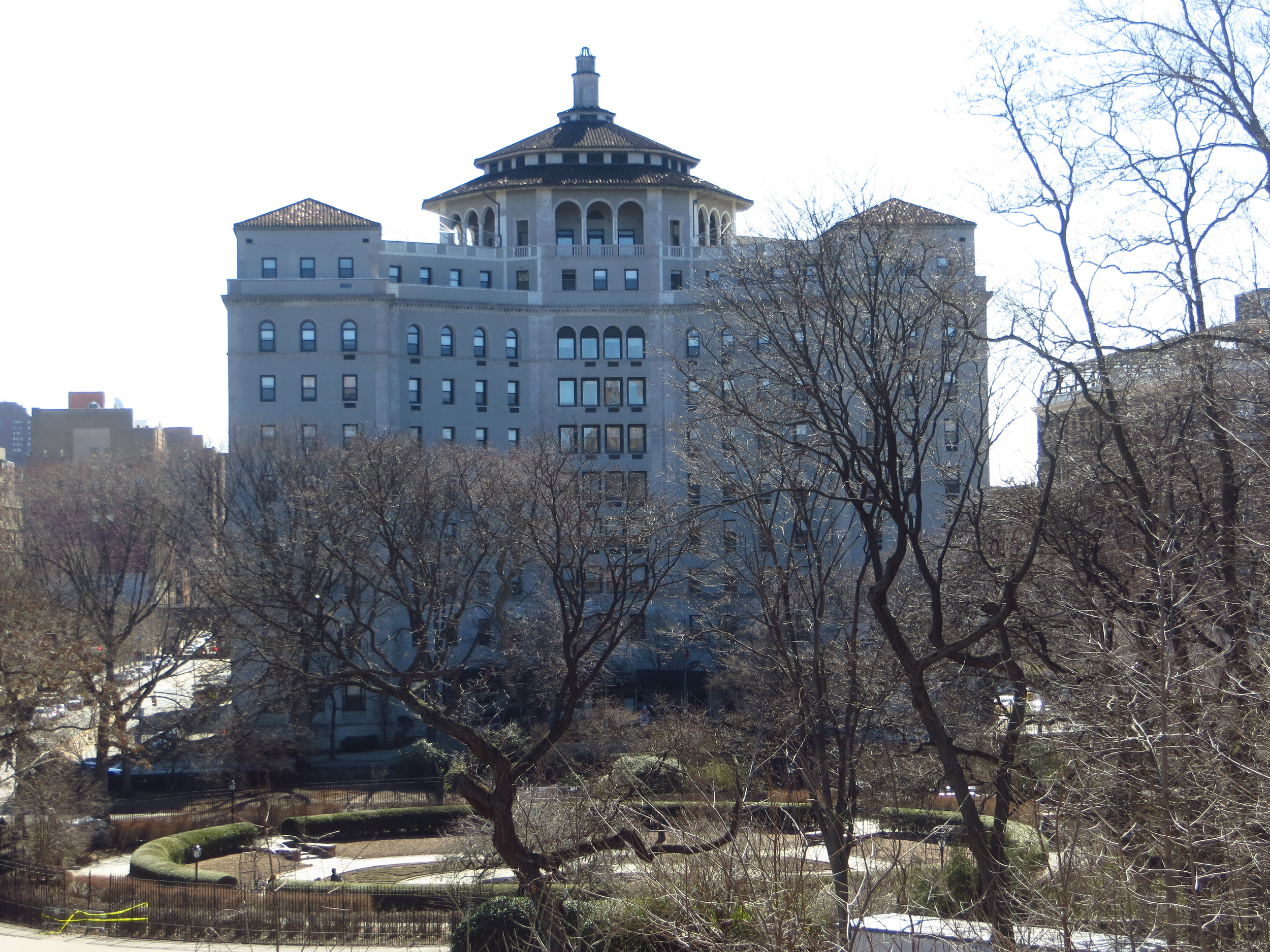 Terence Cardinal Cooke Health Care Center from Central Park