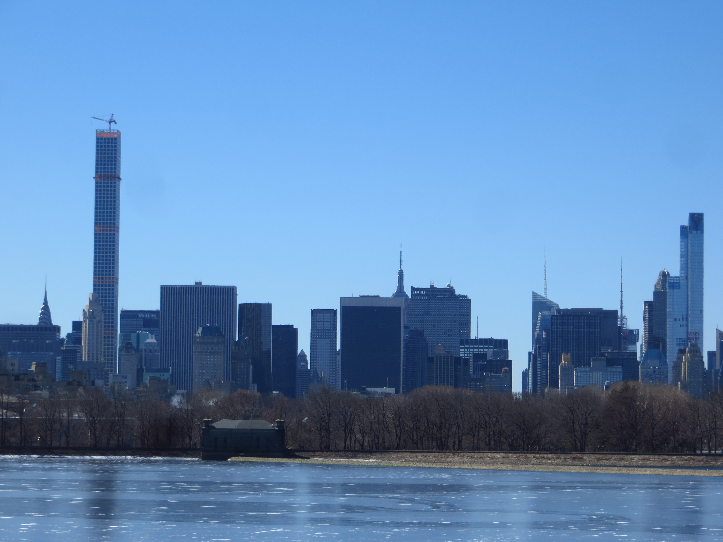 View over the Reservoir into Midtown
