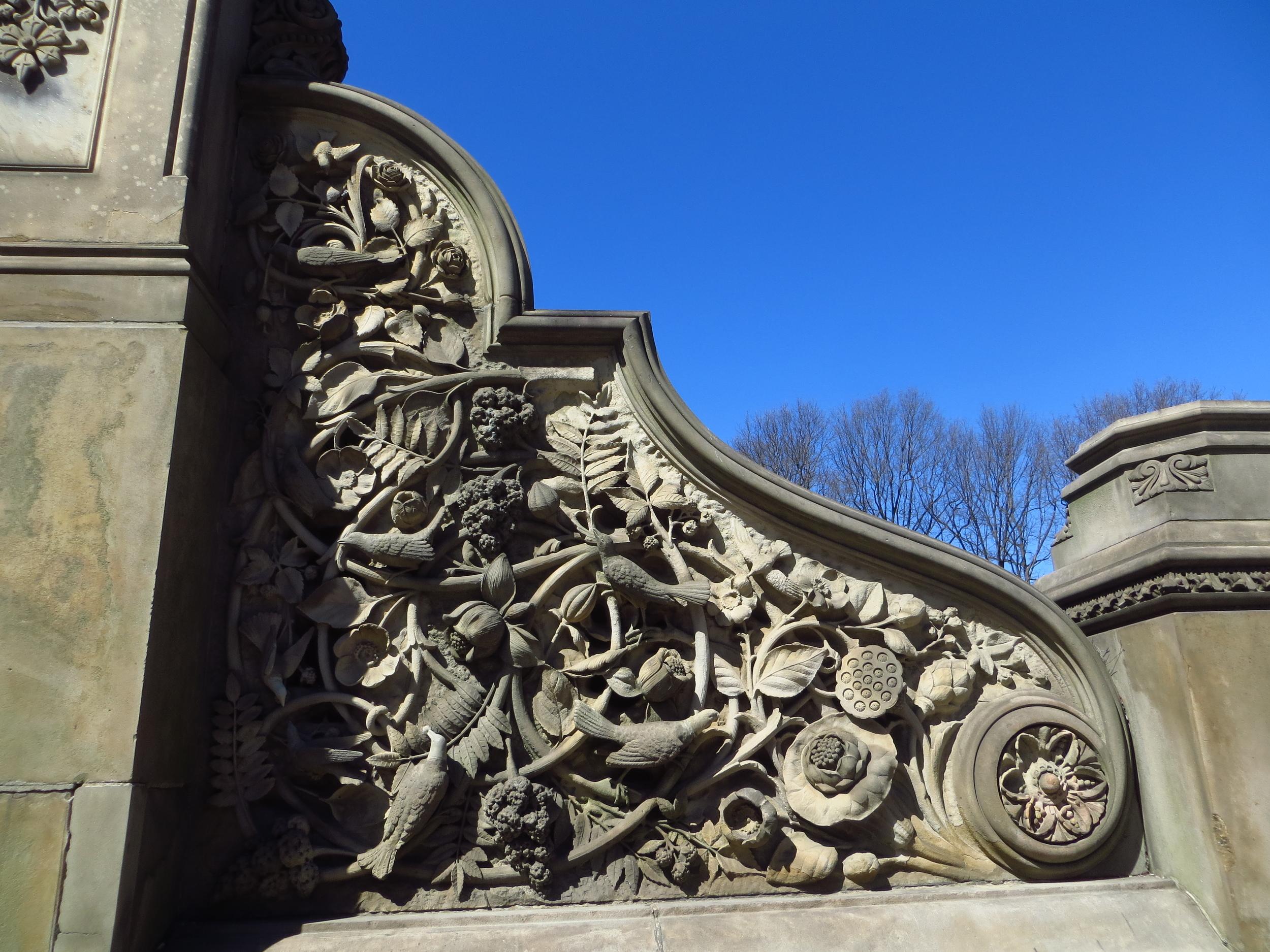 Bethesda Terrace stair detail
