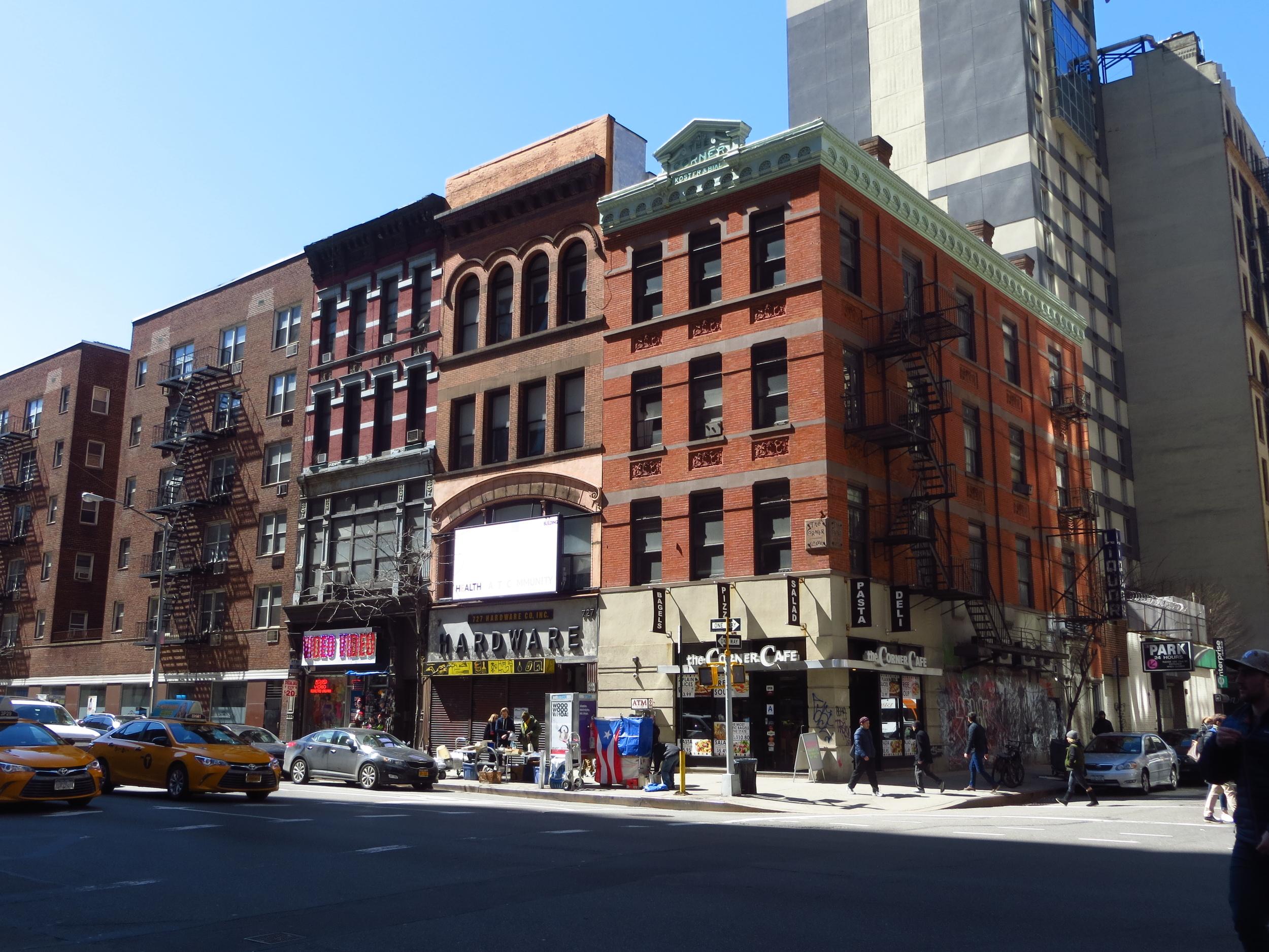 6th Ave. Street Corner