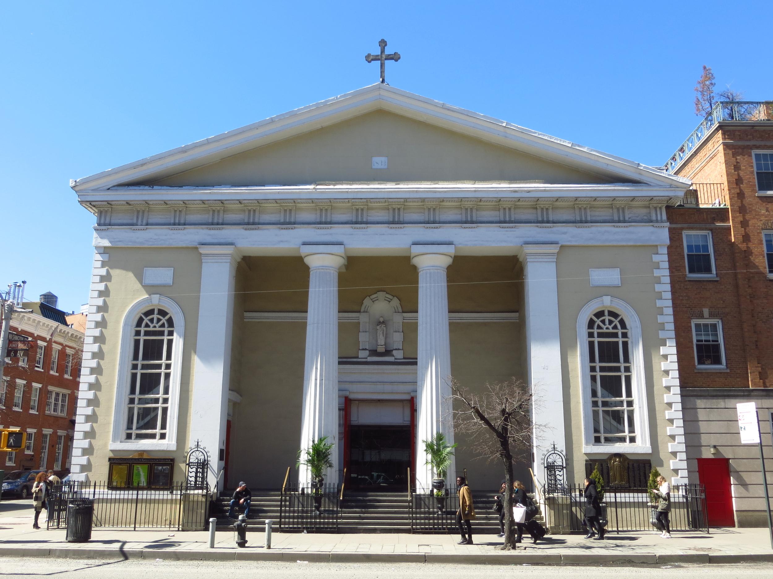 St. Joseph's Church in Greenwich Village
