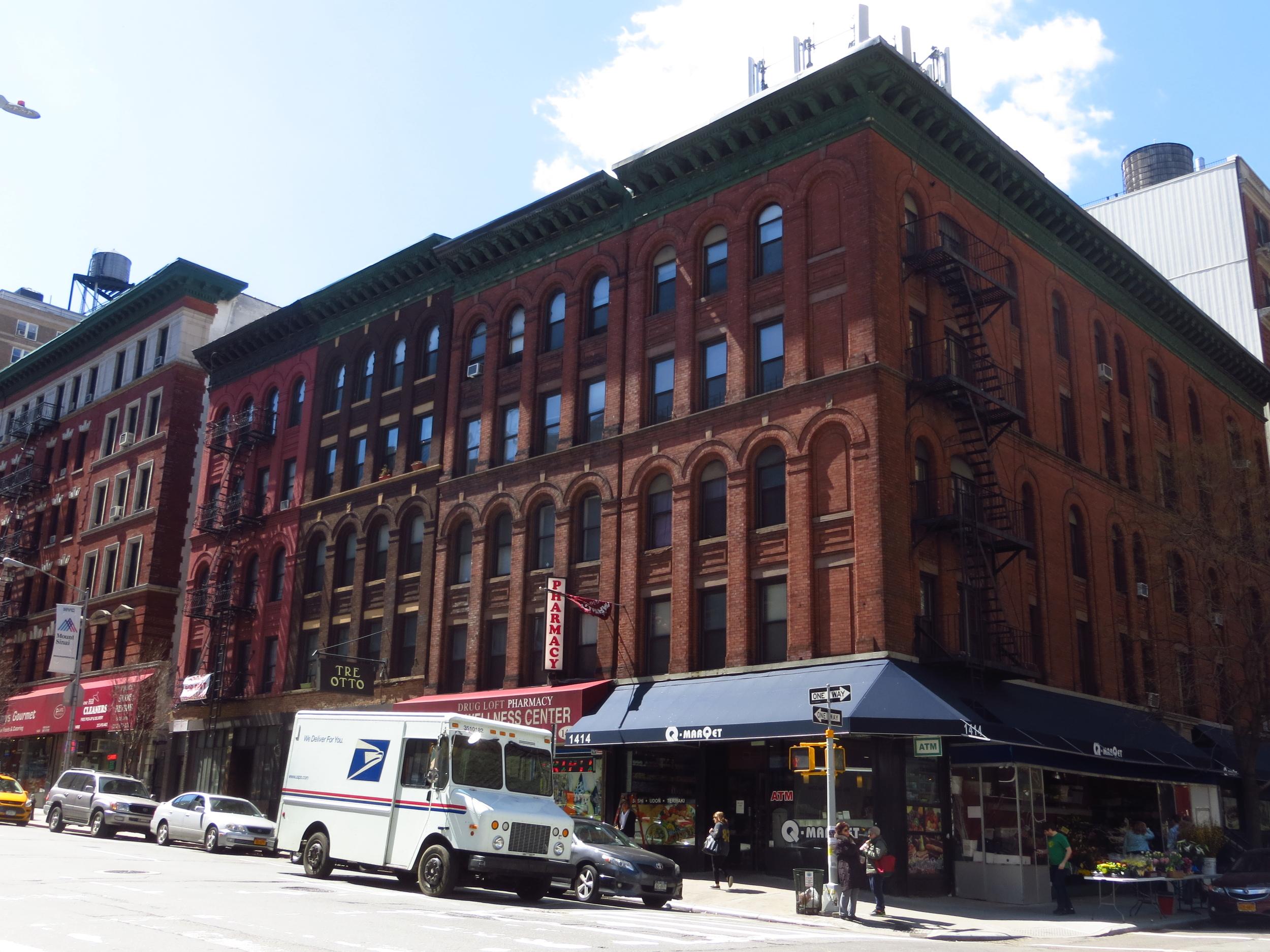 Madison Avenue corner