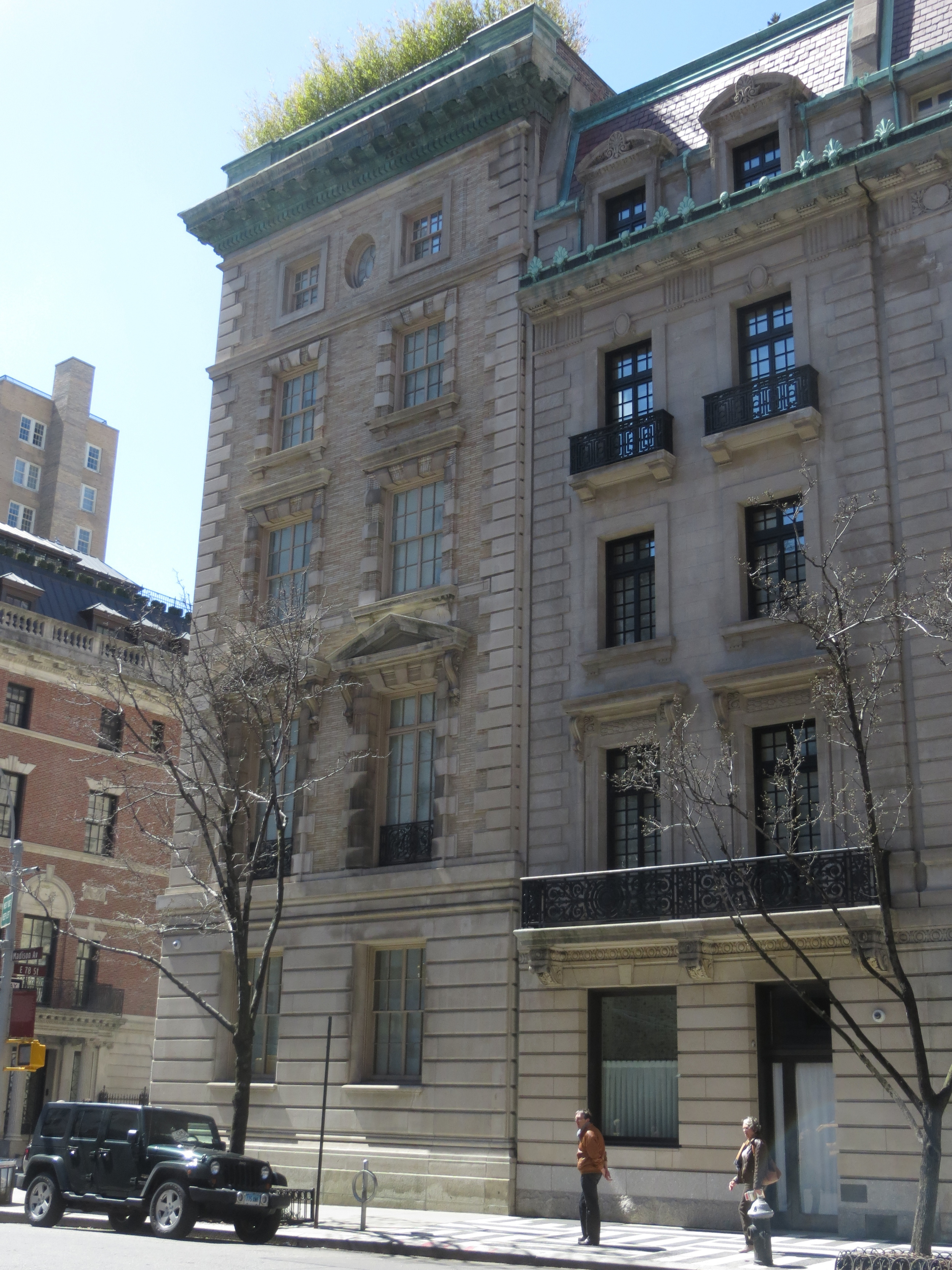 Madison Avenue mansions