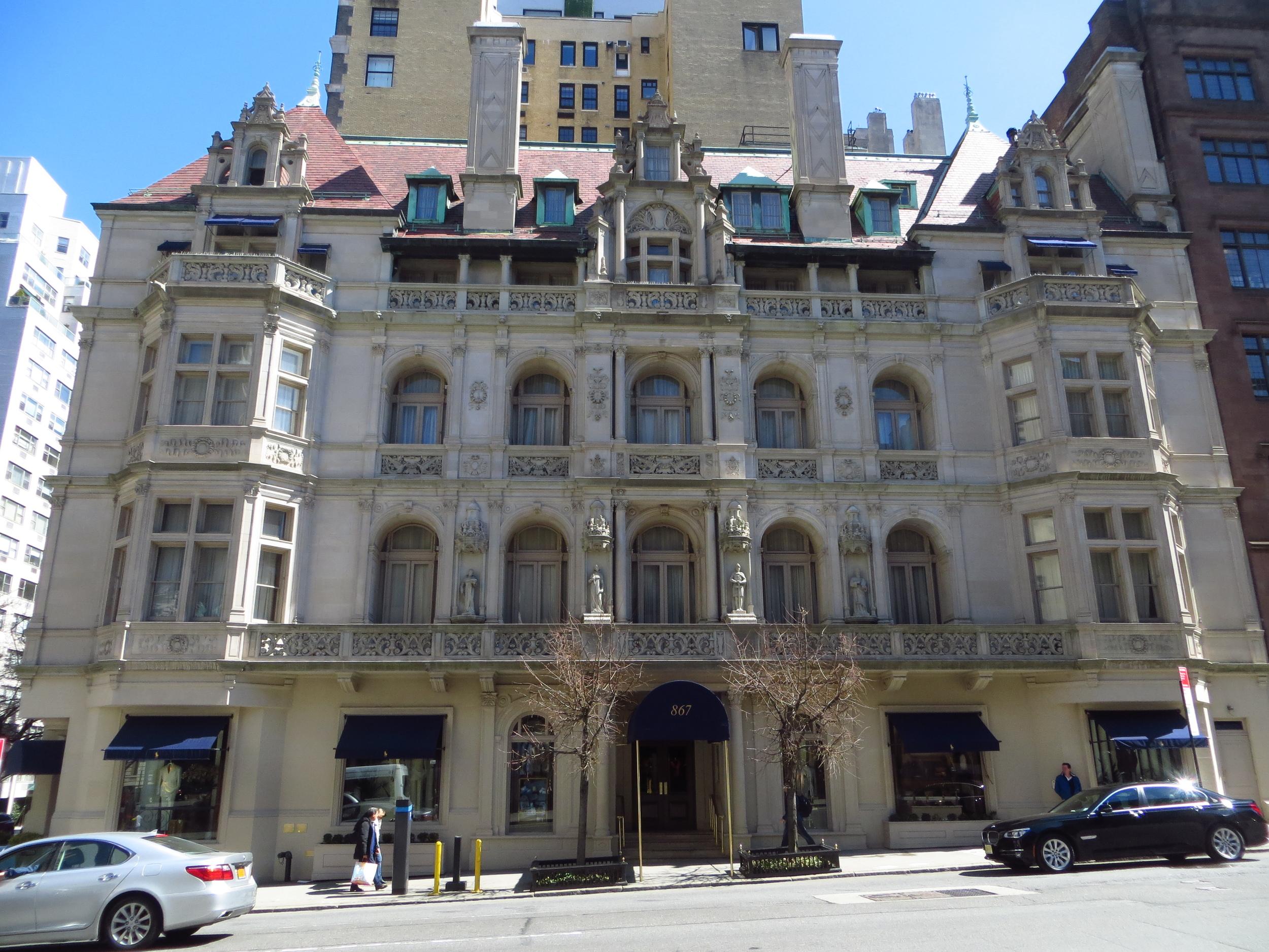 Rhinelander Mansion - it's the Ralph Lauren flagship store now