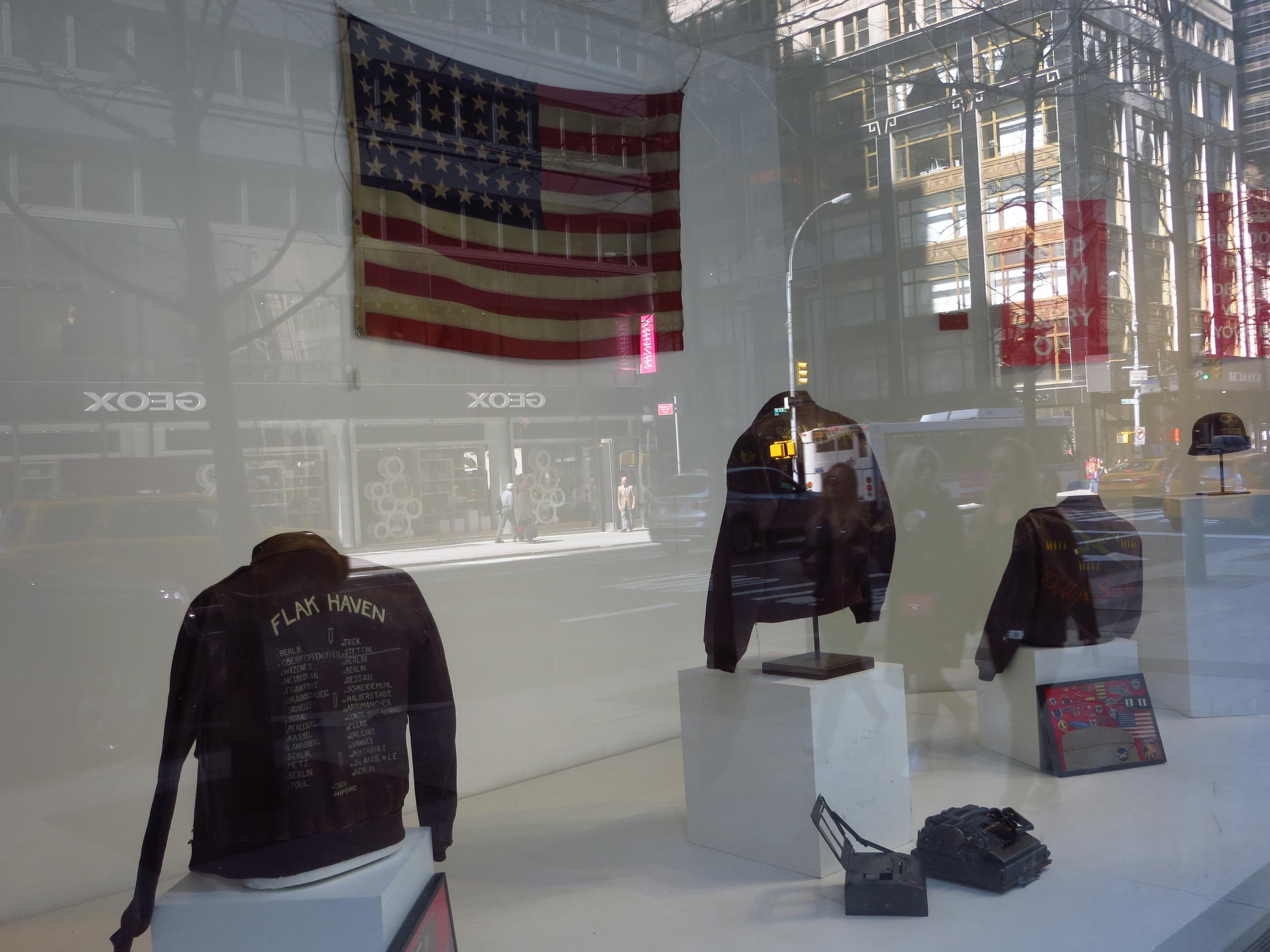 Bonham's Auction House display