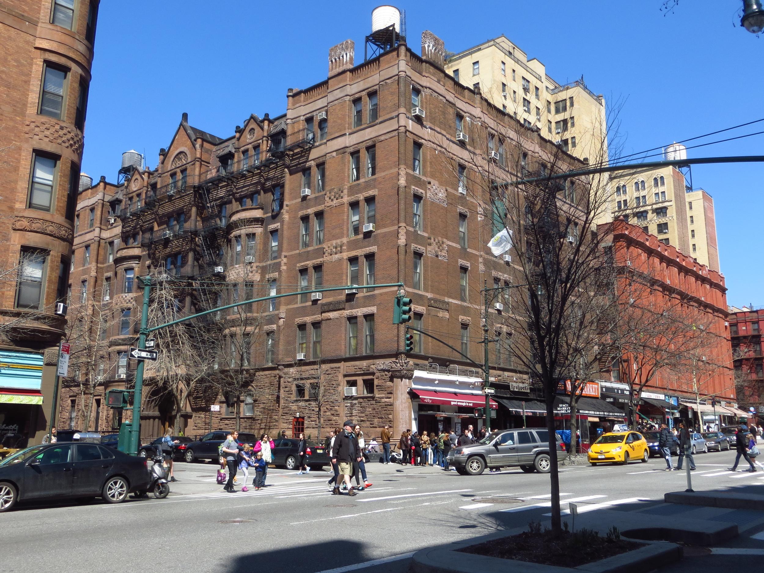 Upper West Side corner