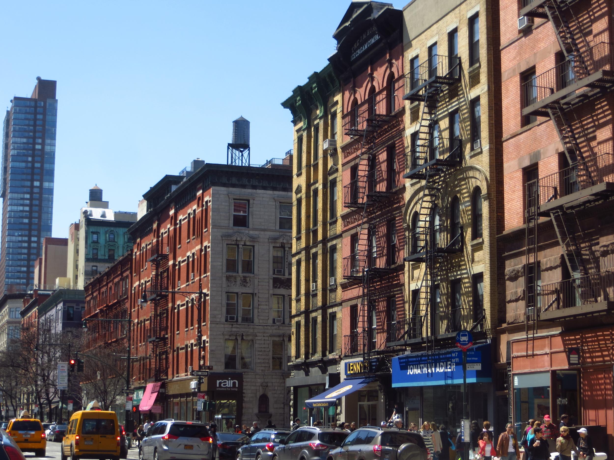 Columbus Ave. buildings