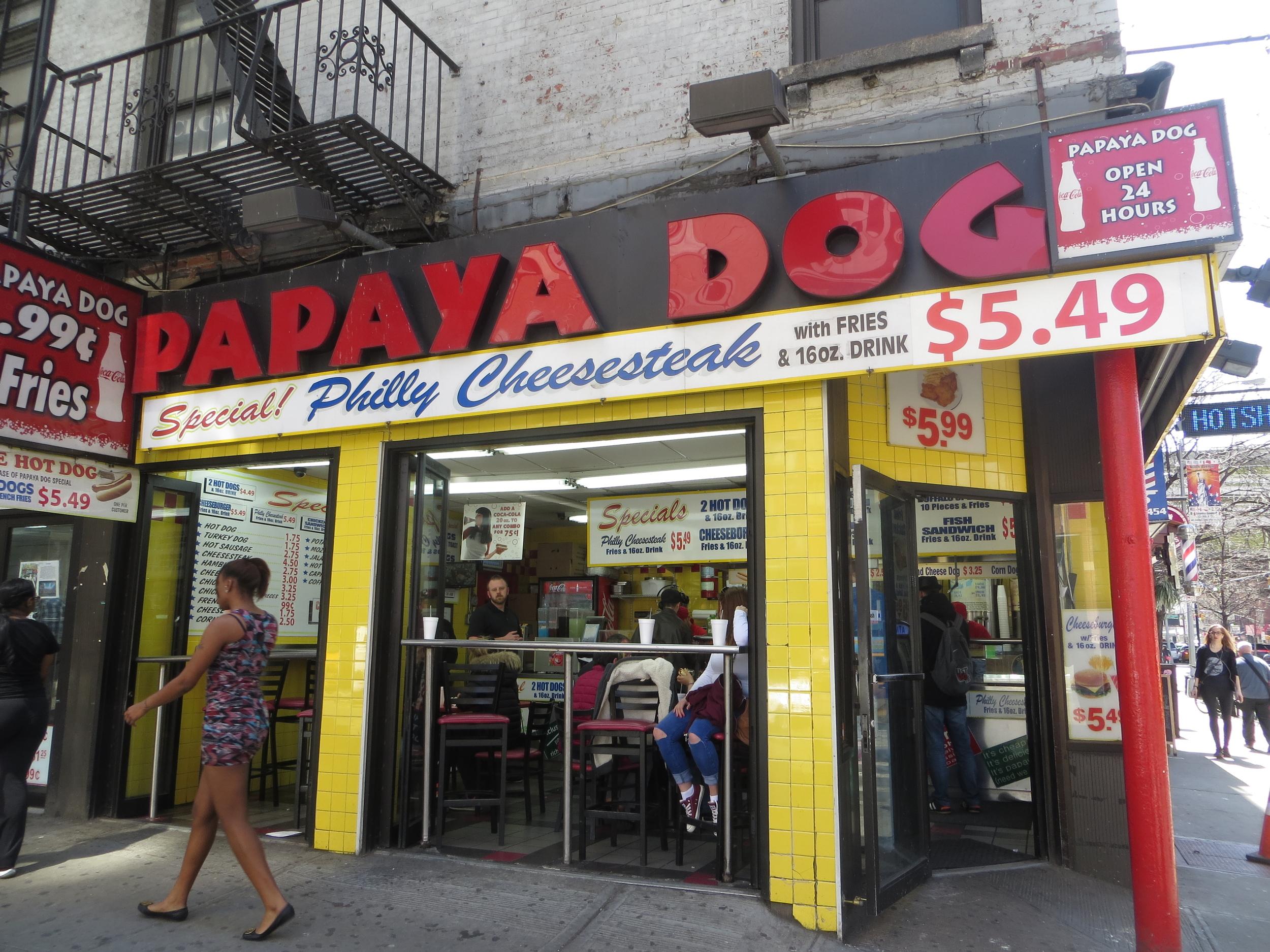 Another Papaya Dog stand