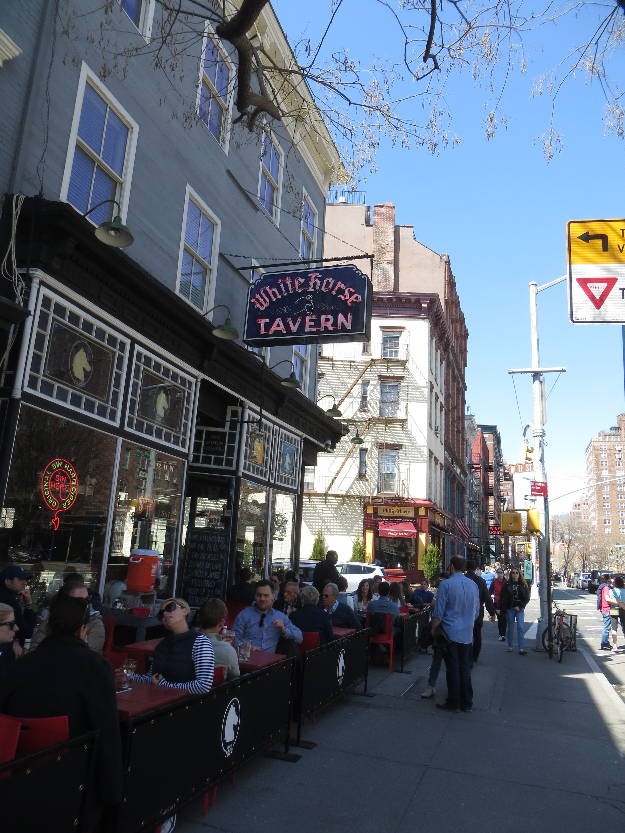 White Horse Tavern (Dylan Thomas got too drunk here and went gentle into that good night)
