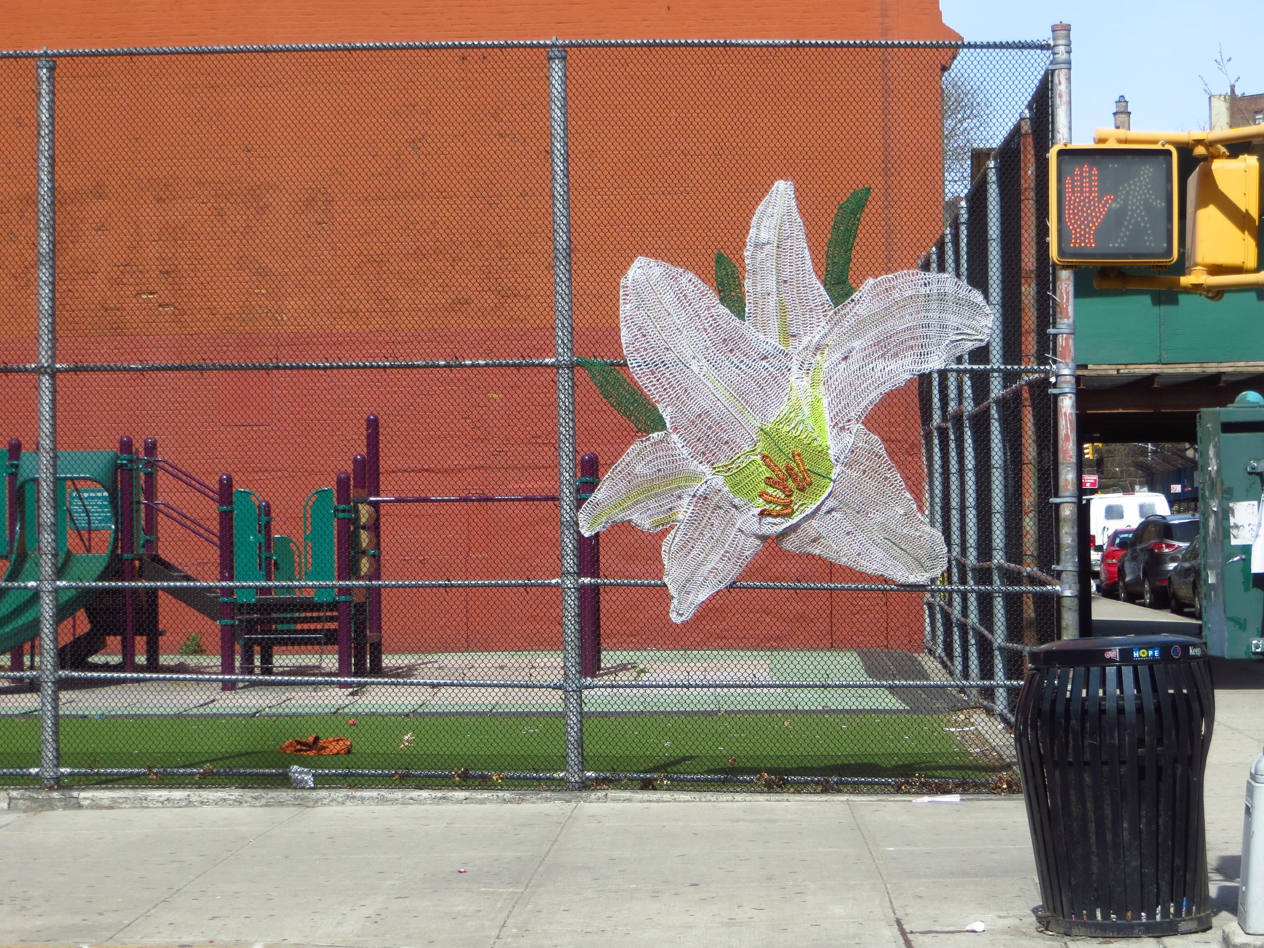 Knit Flower #1
