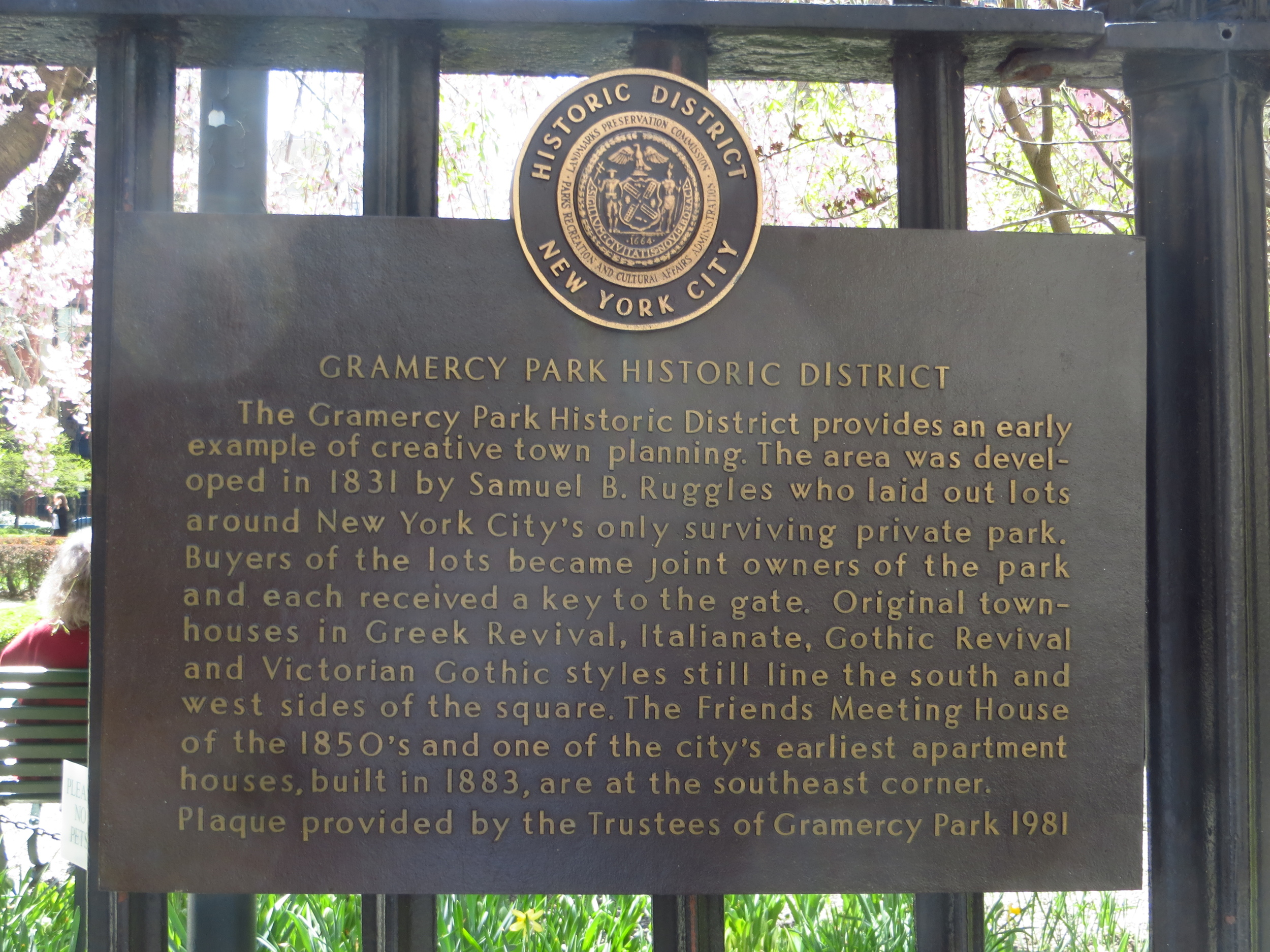 Gramercy Park (no plebs allowed)
