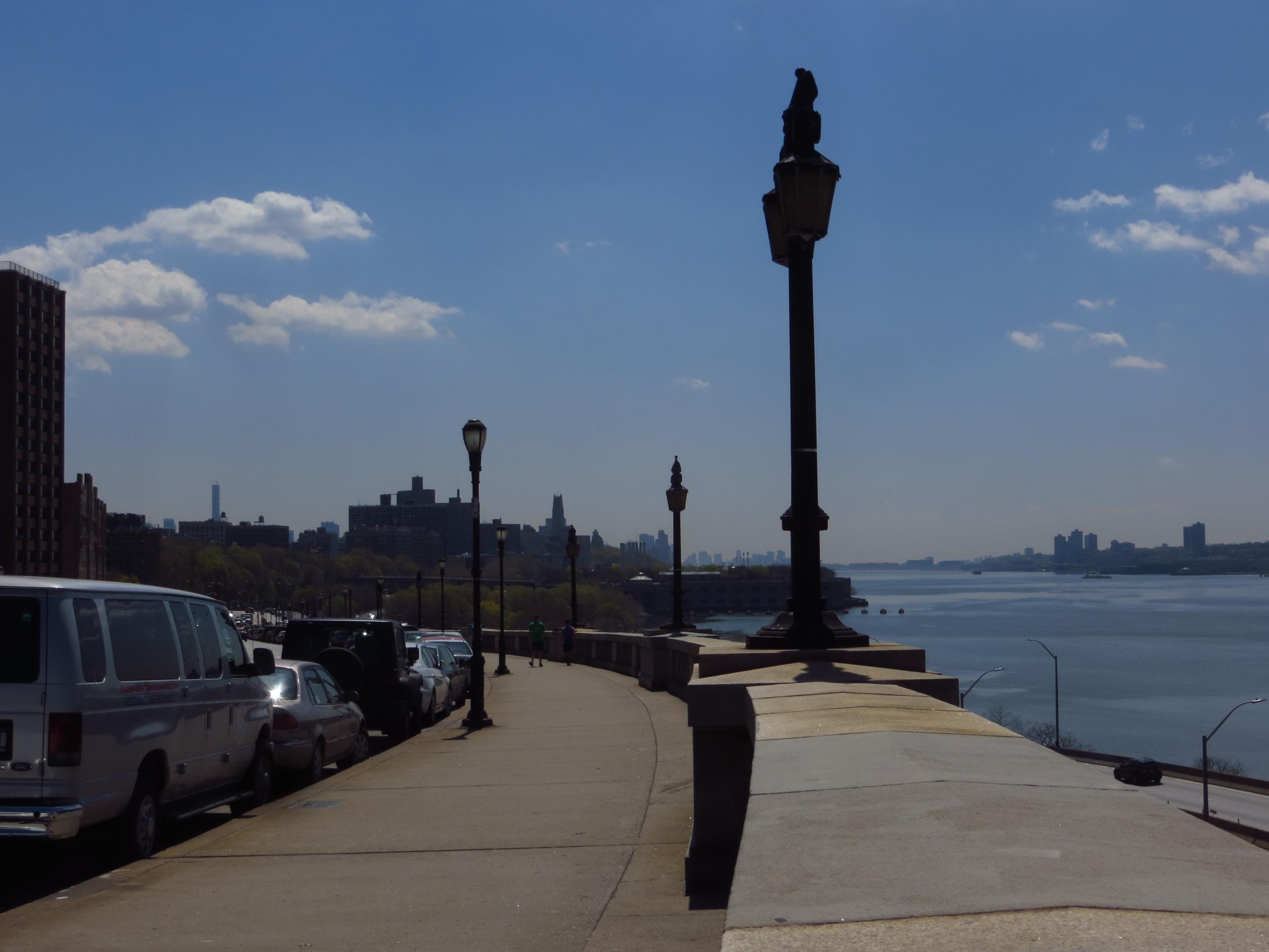 View down the Hudson