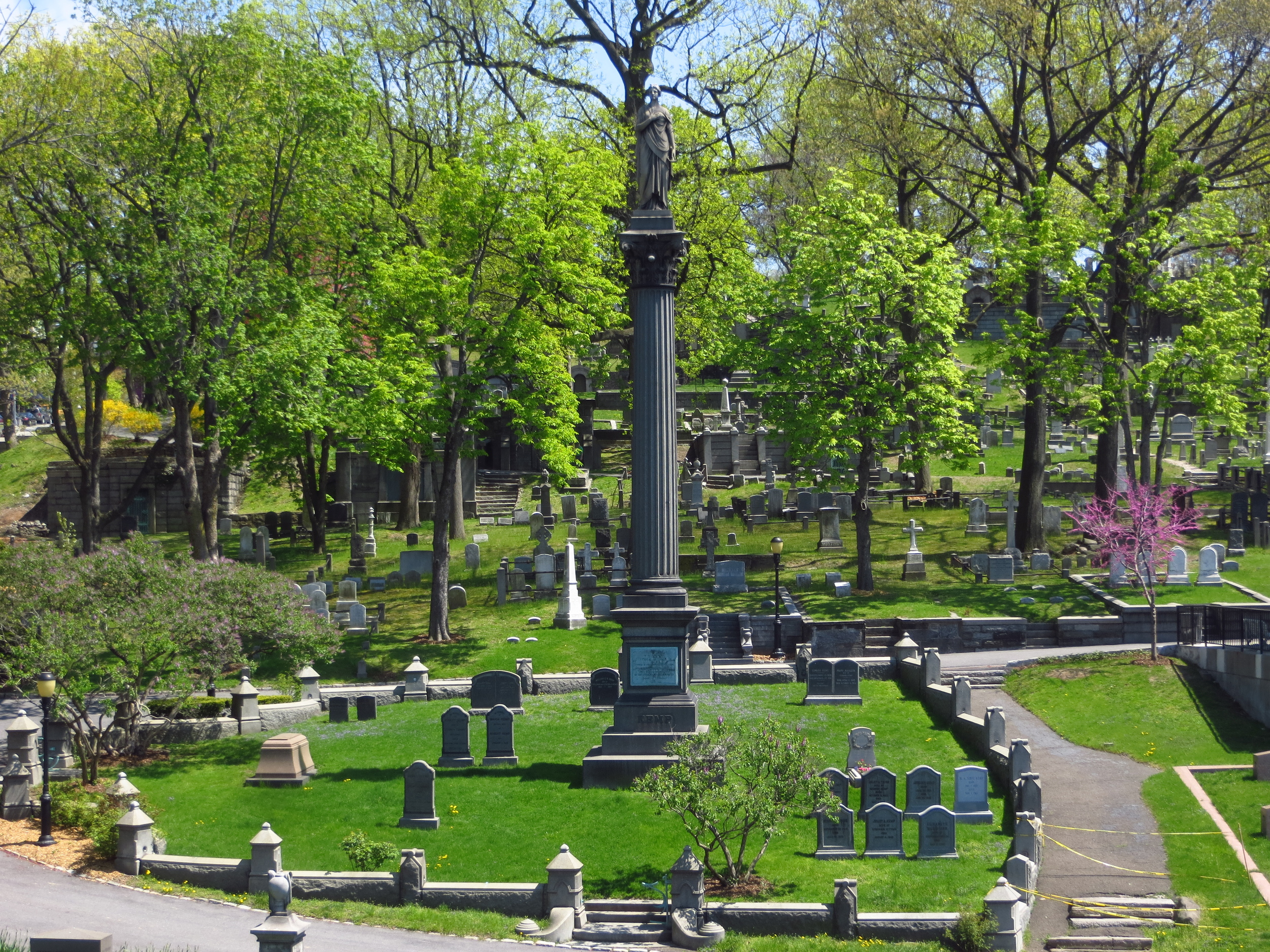 """Trinity Cemetery (I probably should have turned off the """"Vivid Colors"""" setting on my camera)"""