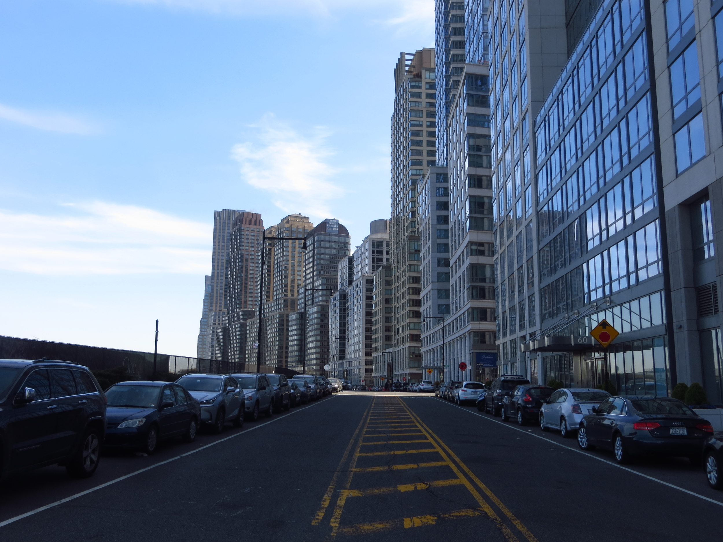 End of Riverside Drive