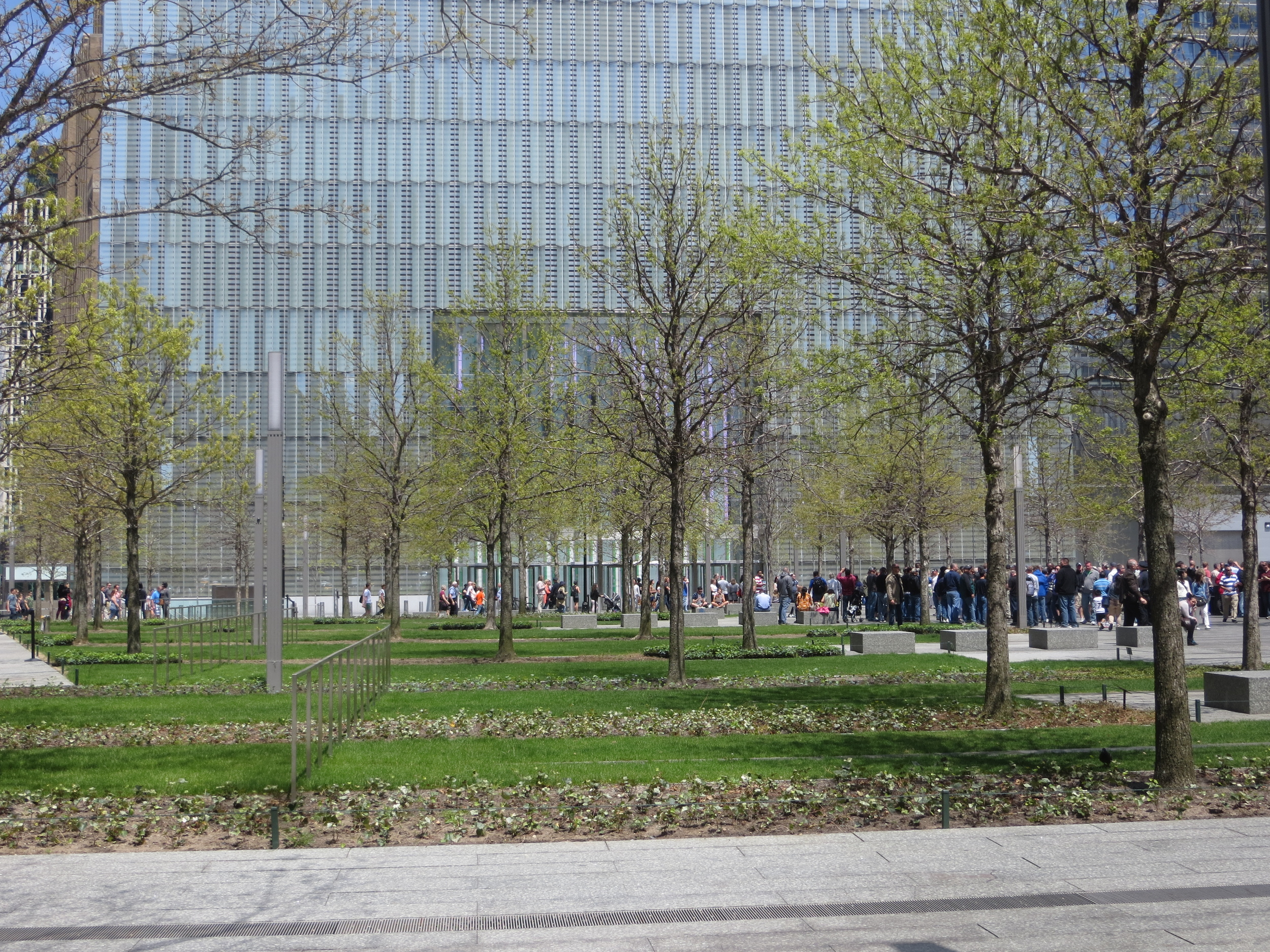 9/11 Memorial and 1 WTC base