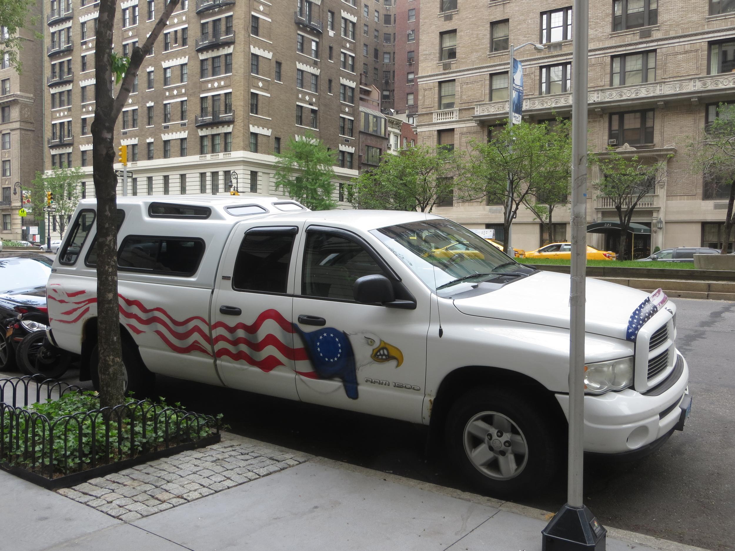 A common sight along Park Avenue