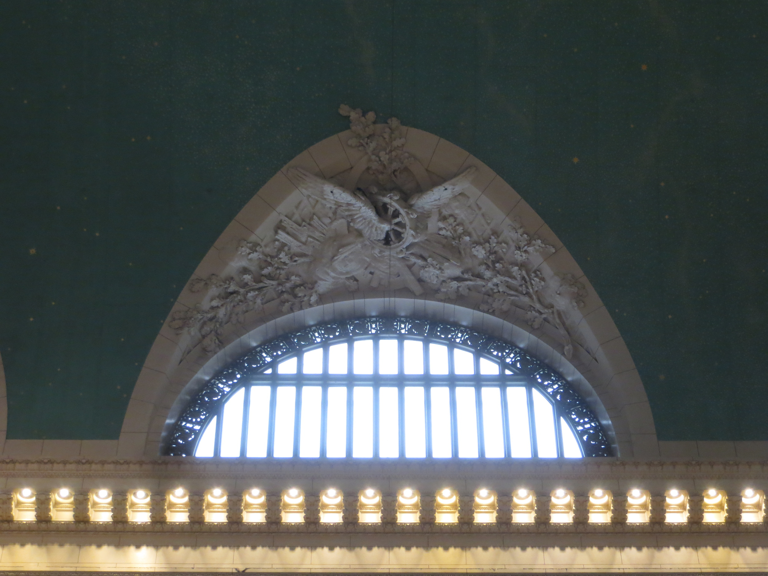 Grand Central window