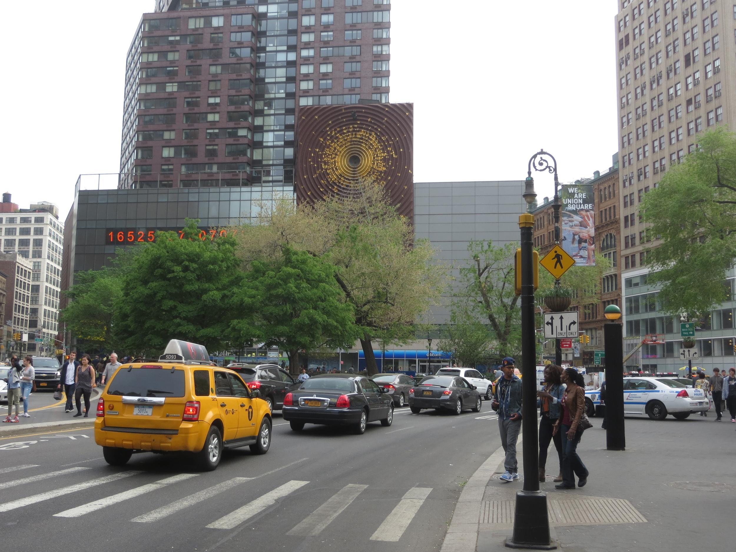End of Park Avenue