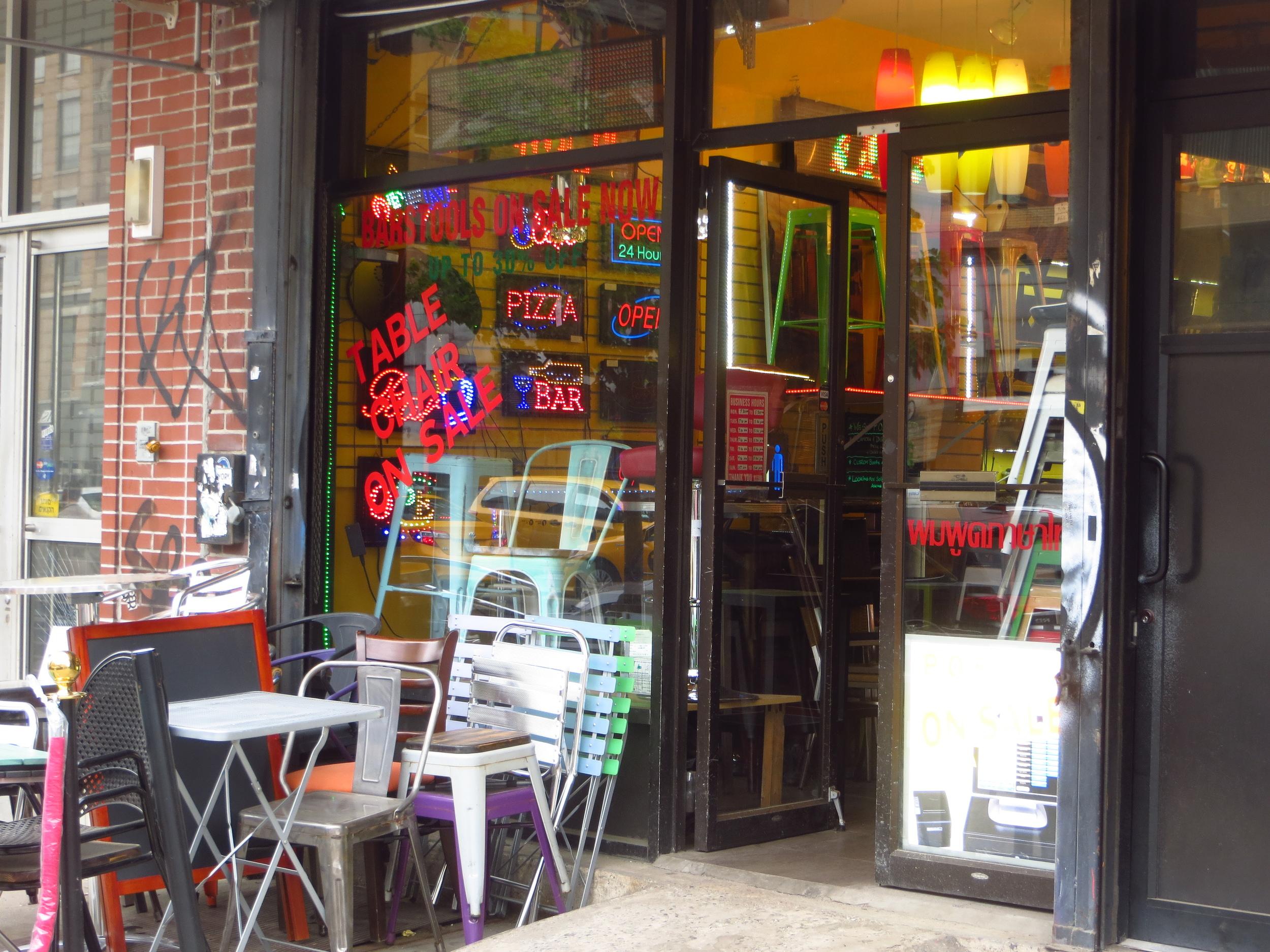 Restaurant supply store