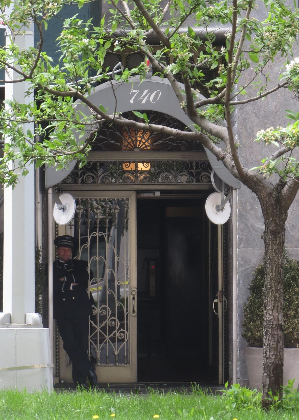 740 Park Avenue Doorman