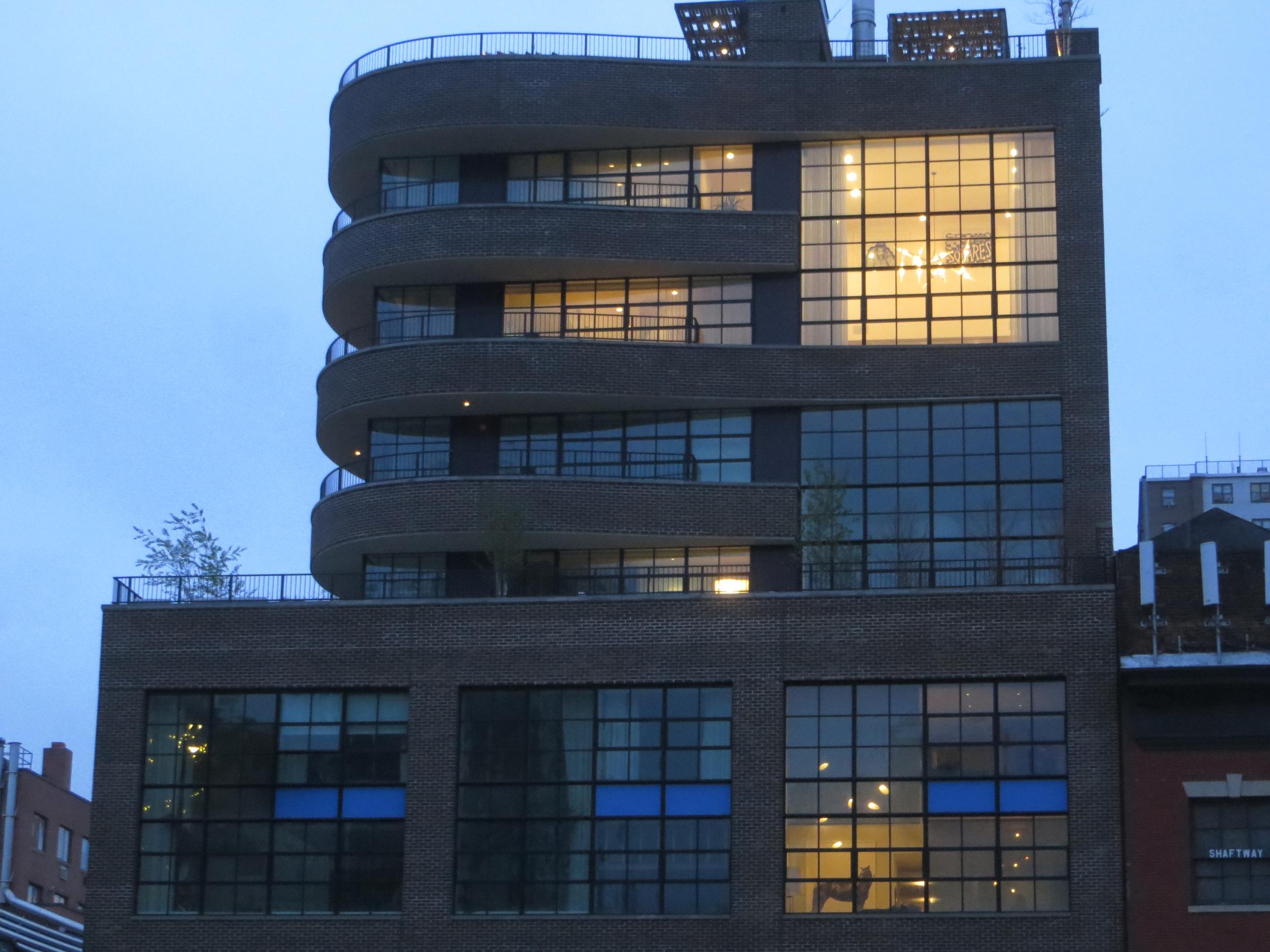 Rich people's windows