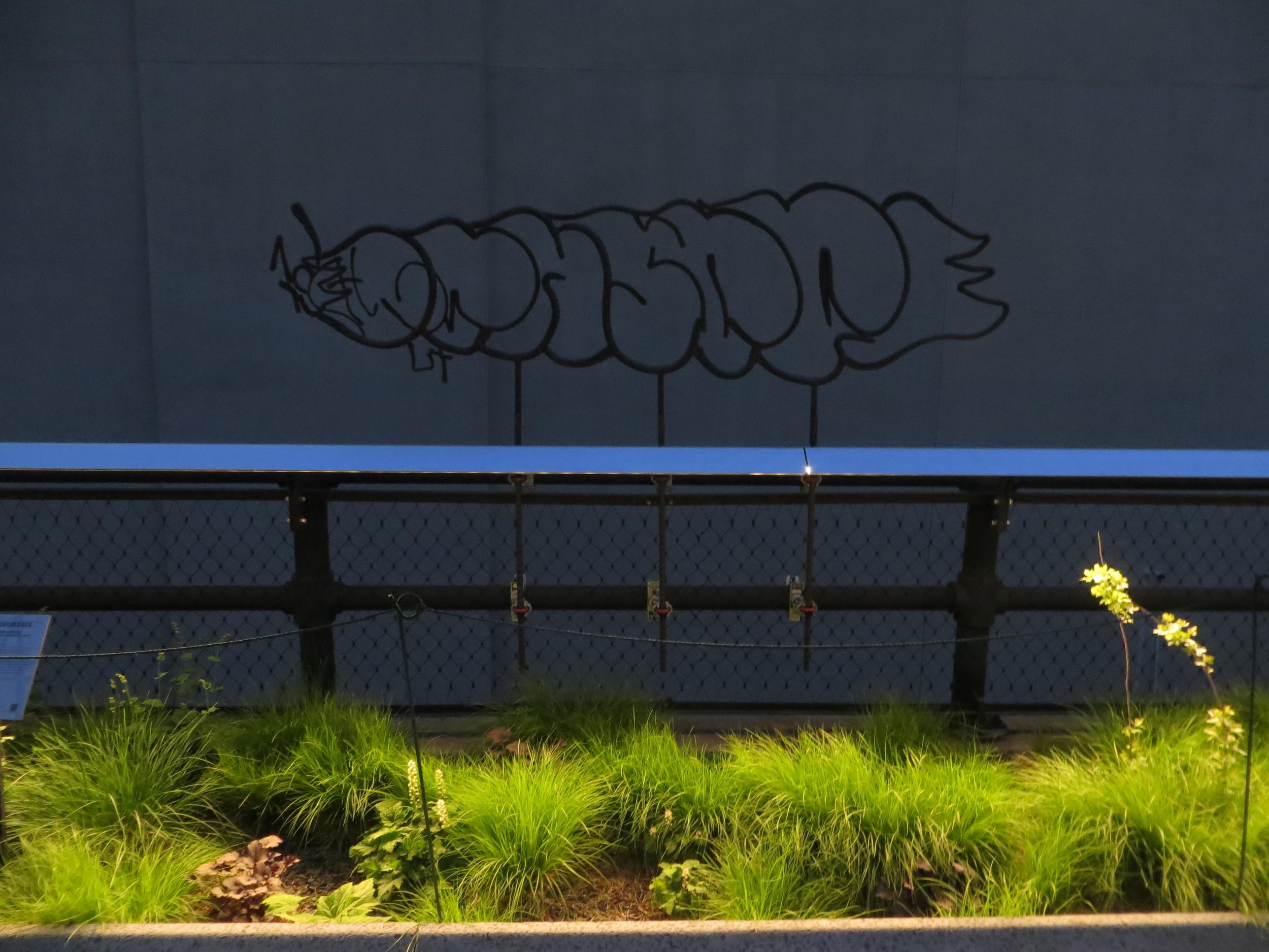 More rebar graffiti