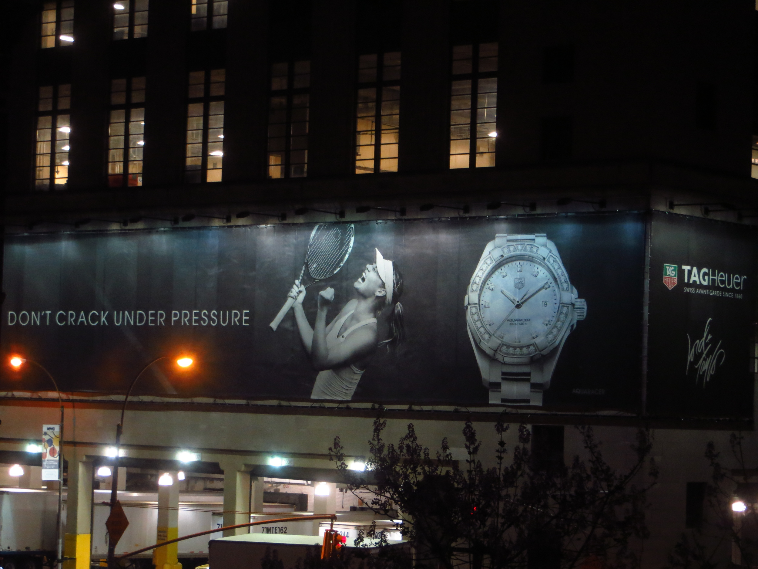 She's not wearing a watch...