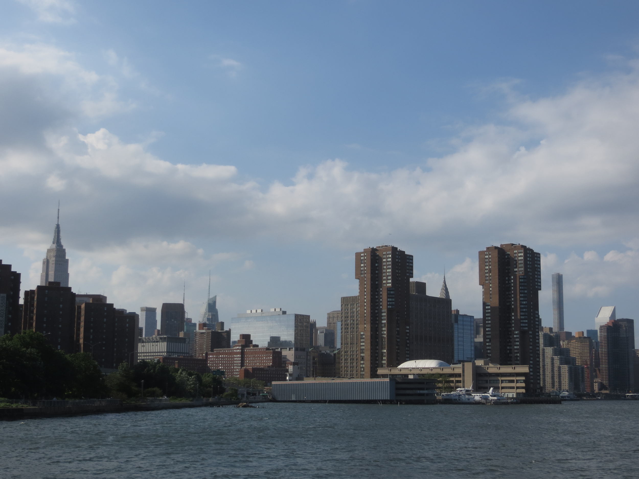 Midtown over East River