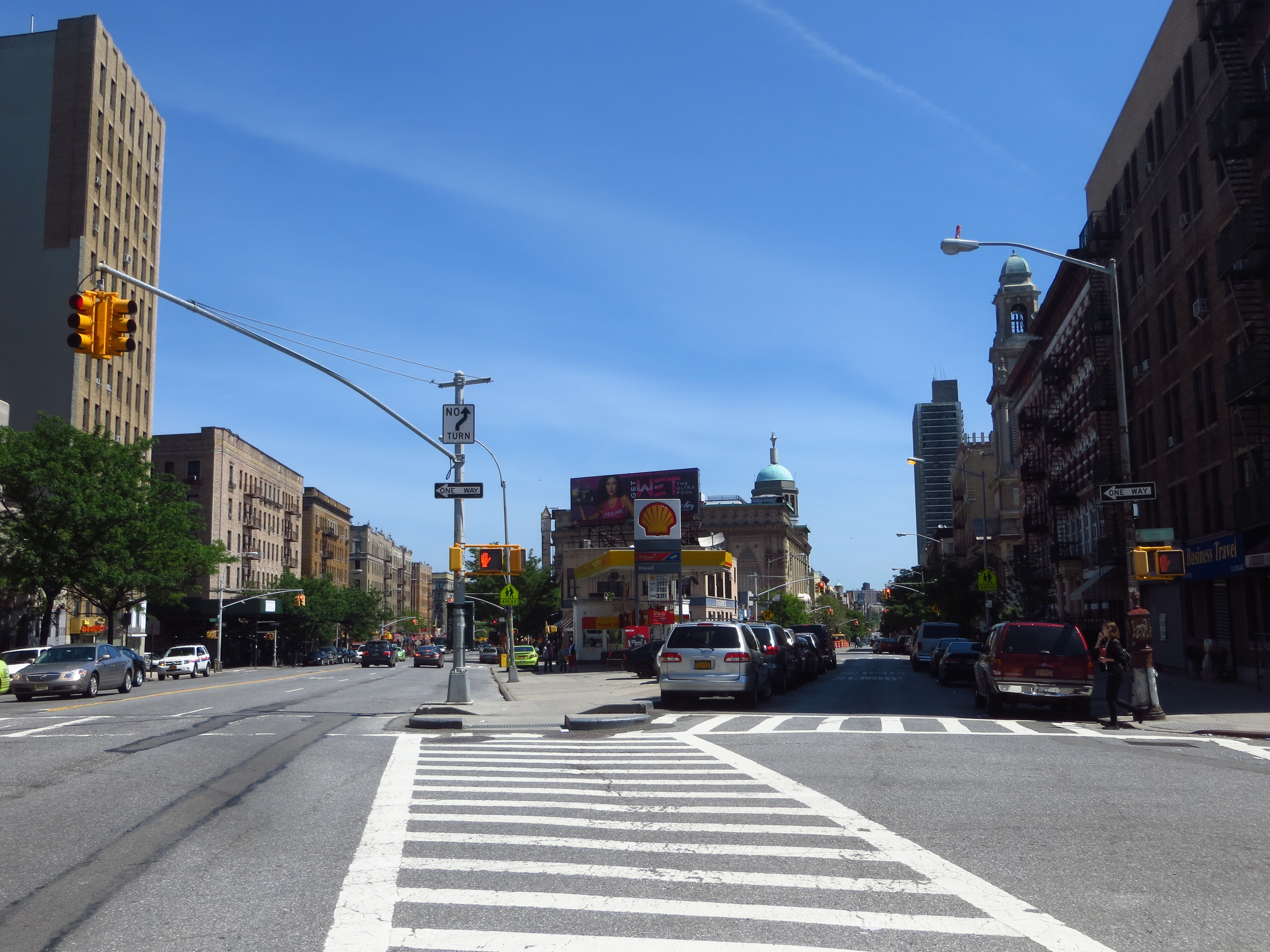 Broadway at 173rd St. looking north