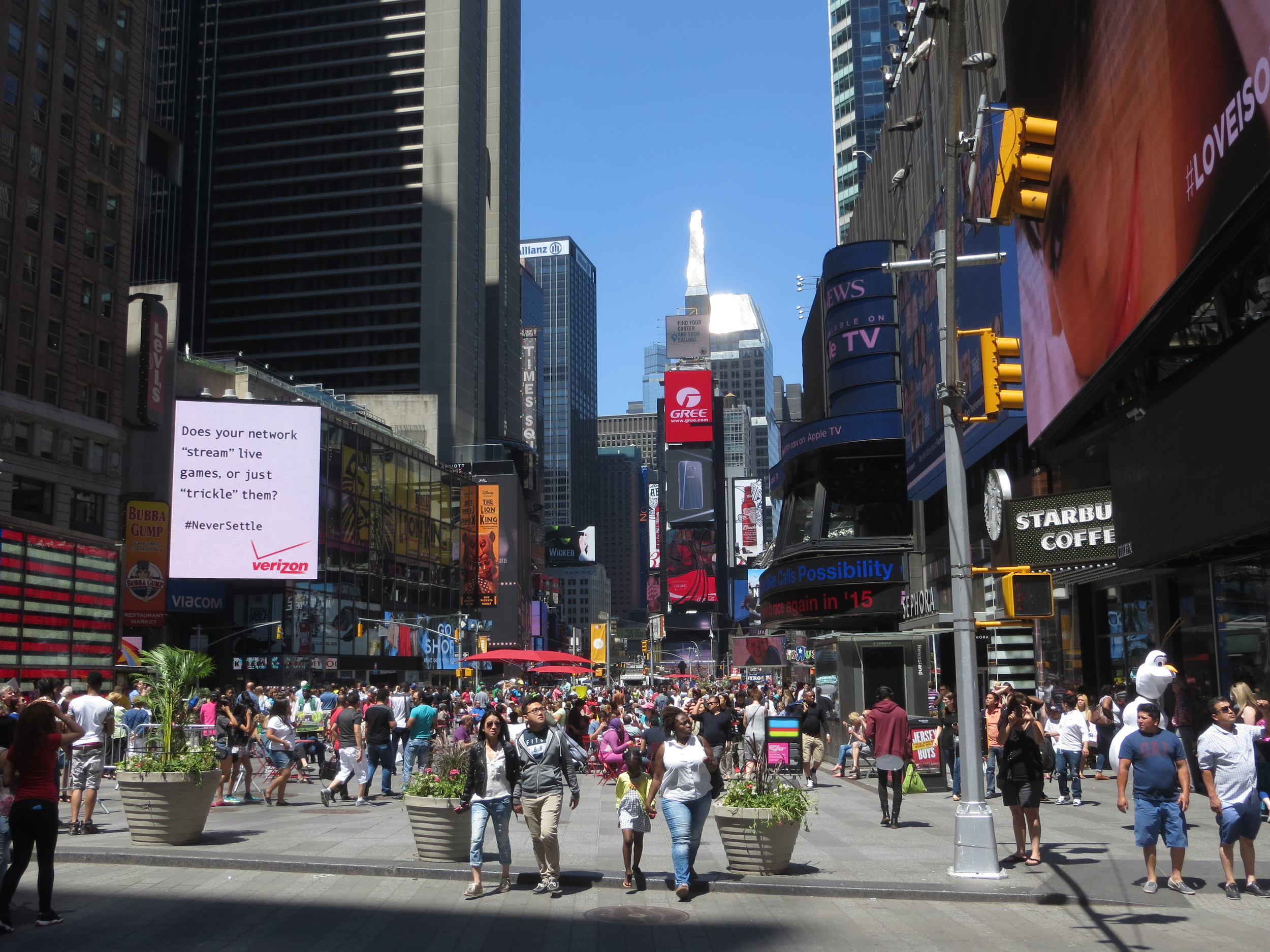 Times Square (Broadway at 42nd St.)