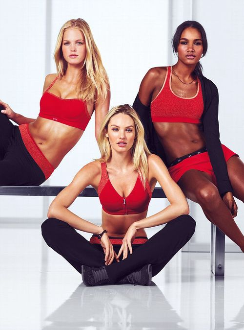 Erin Heatherton, Candice Swanepoel, and Arlenis Sosa by Russell James for Victoria's Secret