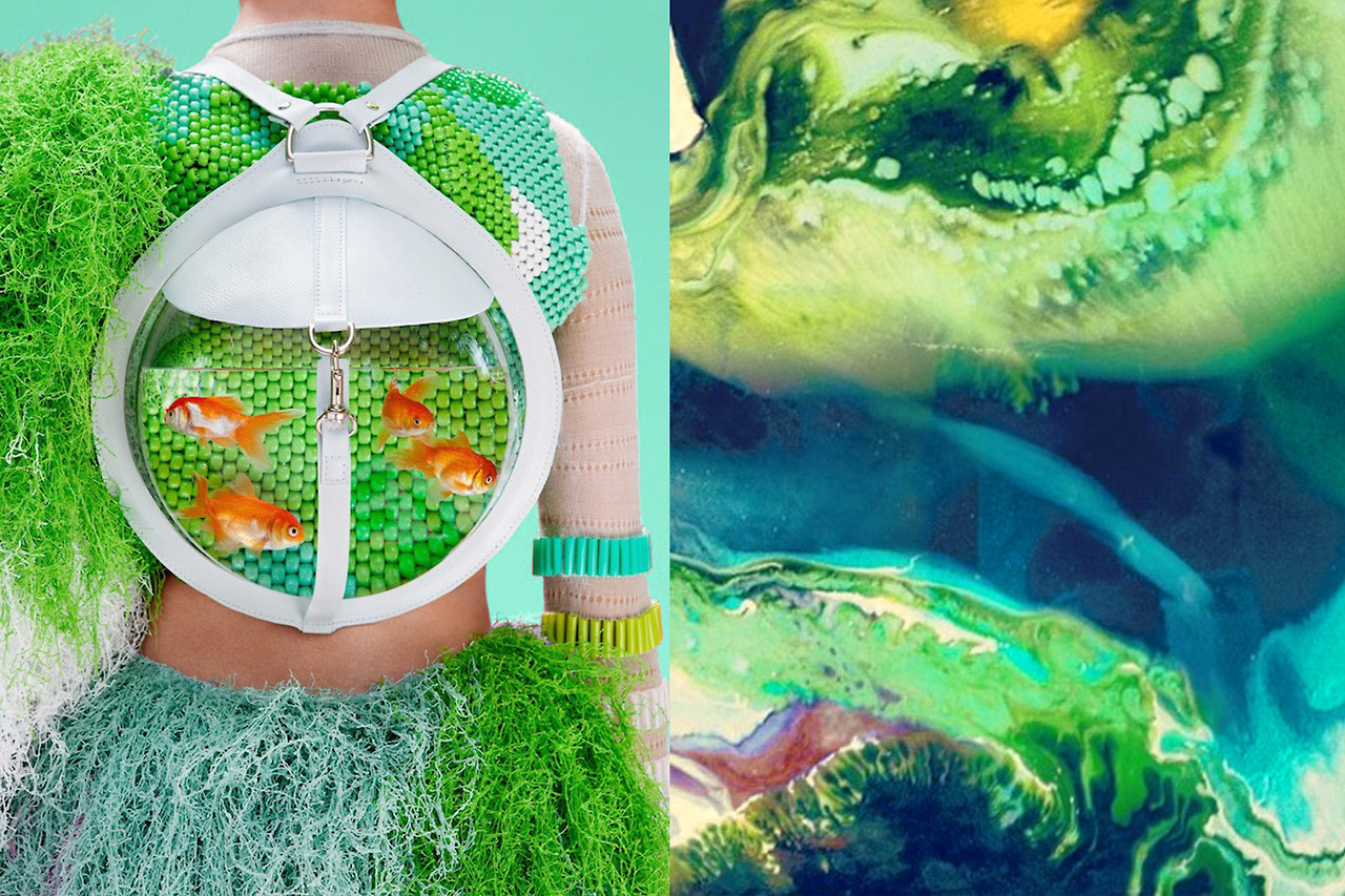 Fishbowl backpack by Cassandra Verity Green.