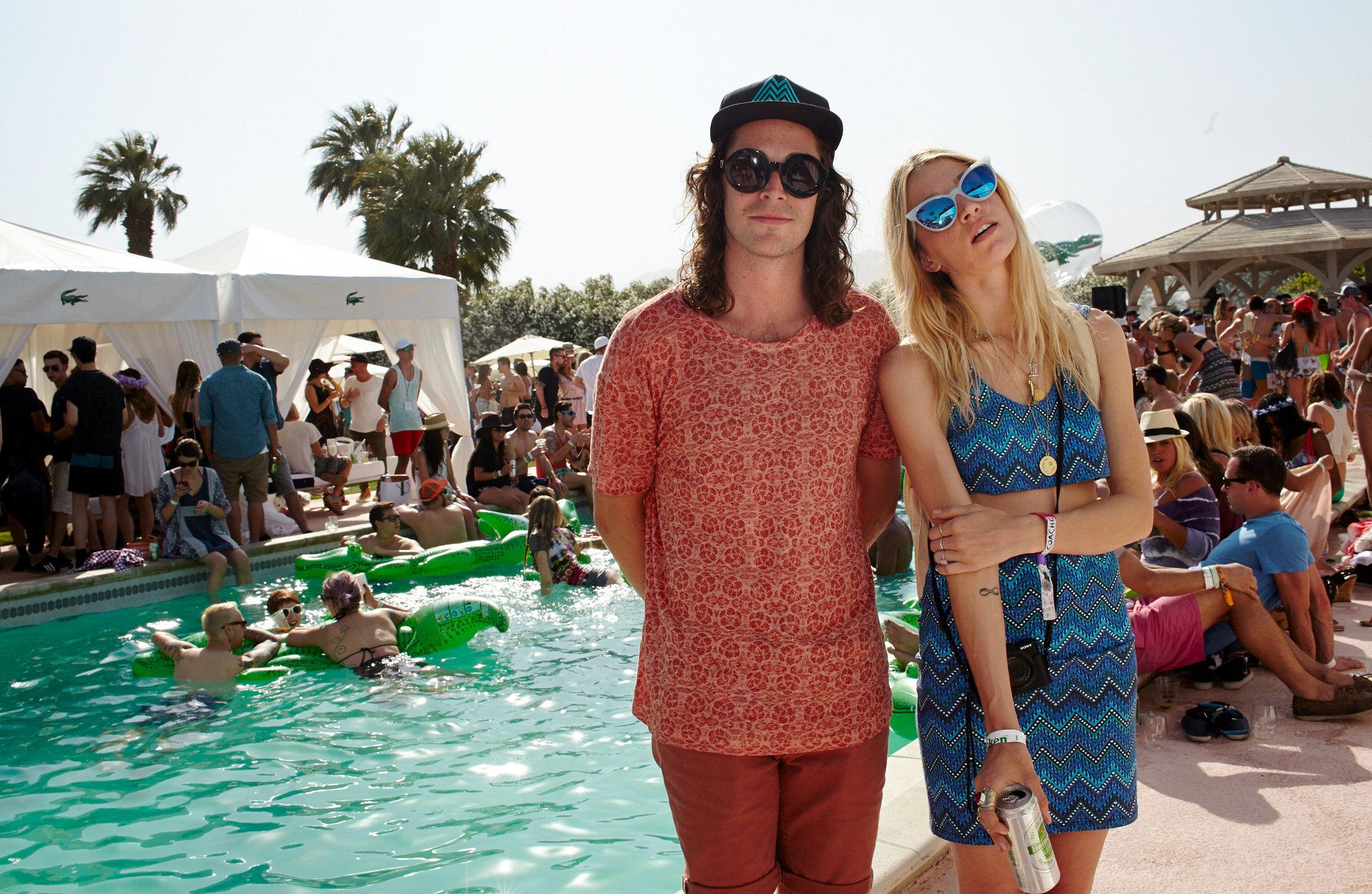 Sam Martin & Female Friend