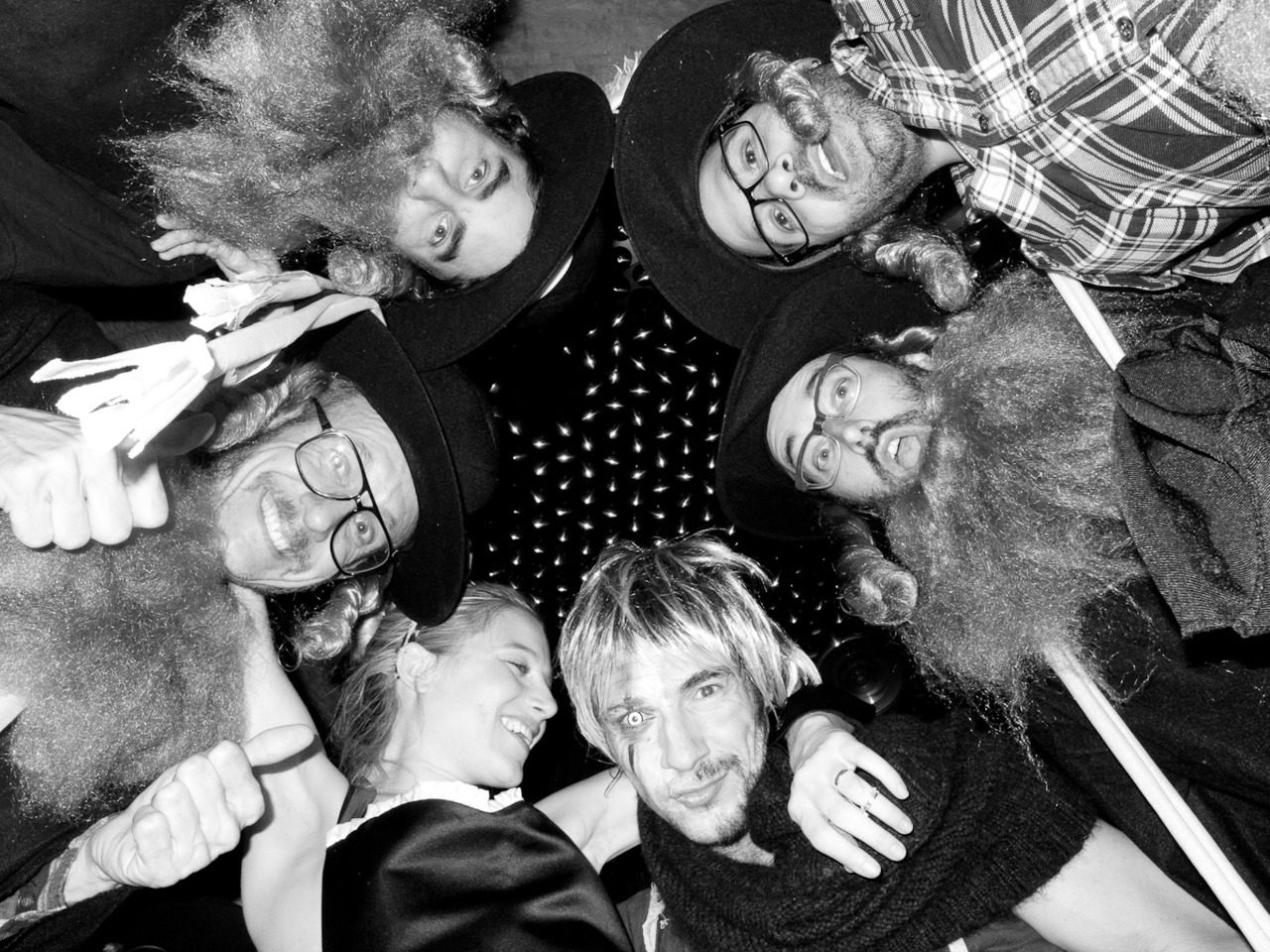 """""""The Rabbi's, Dree and Thomas"""" by Terry Richardson (Oct. 31, 2011)"""