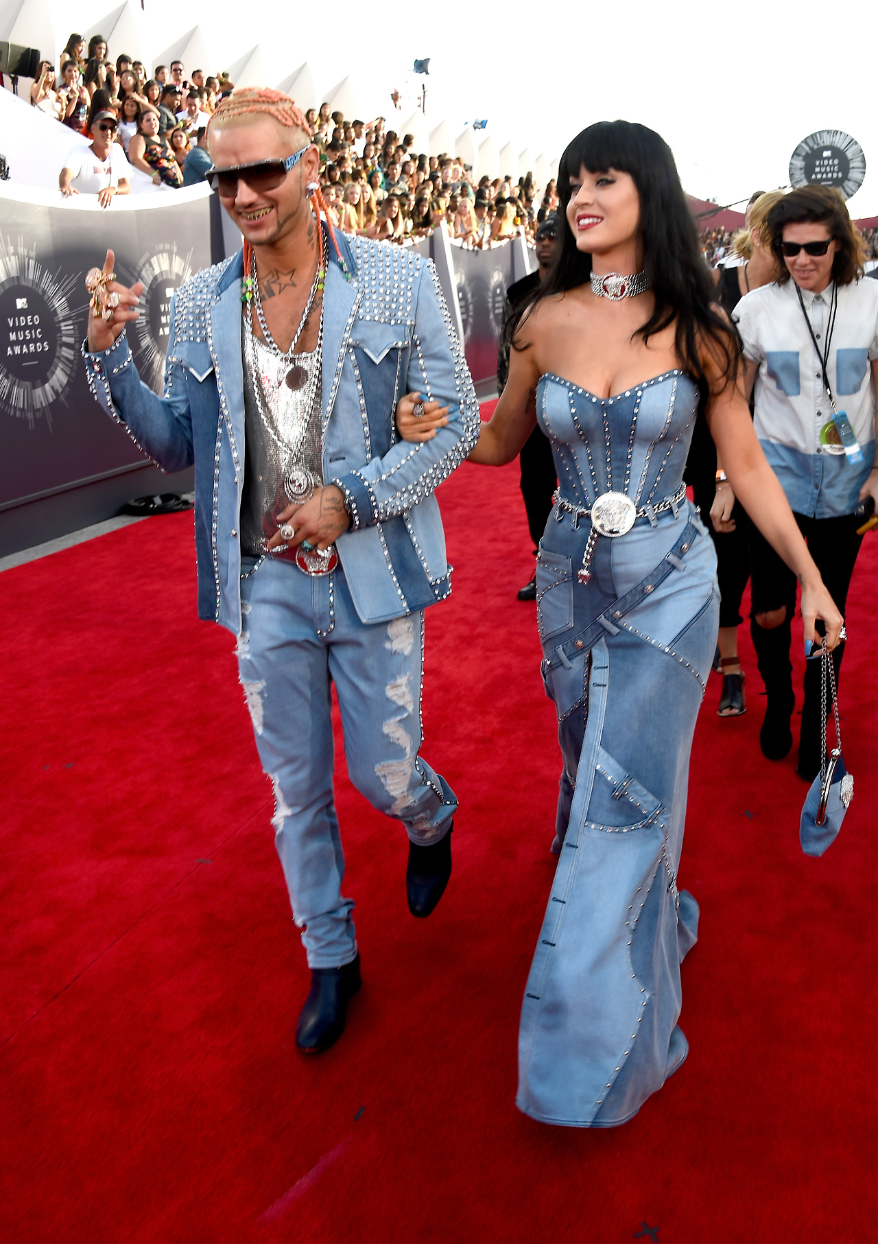 RIFF RAFF AND KATY PERRY, 2014 VIDEO MUSIC AWARDS