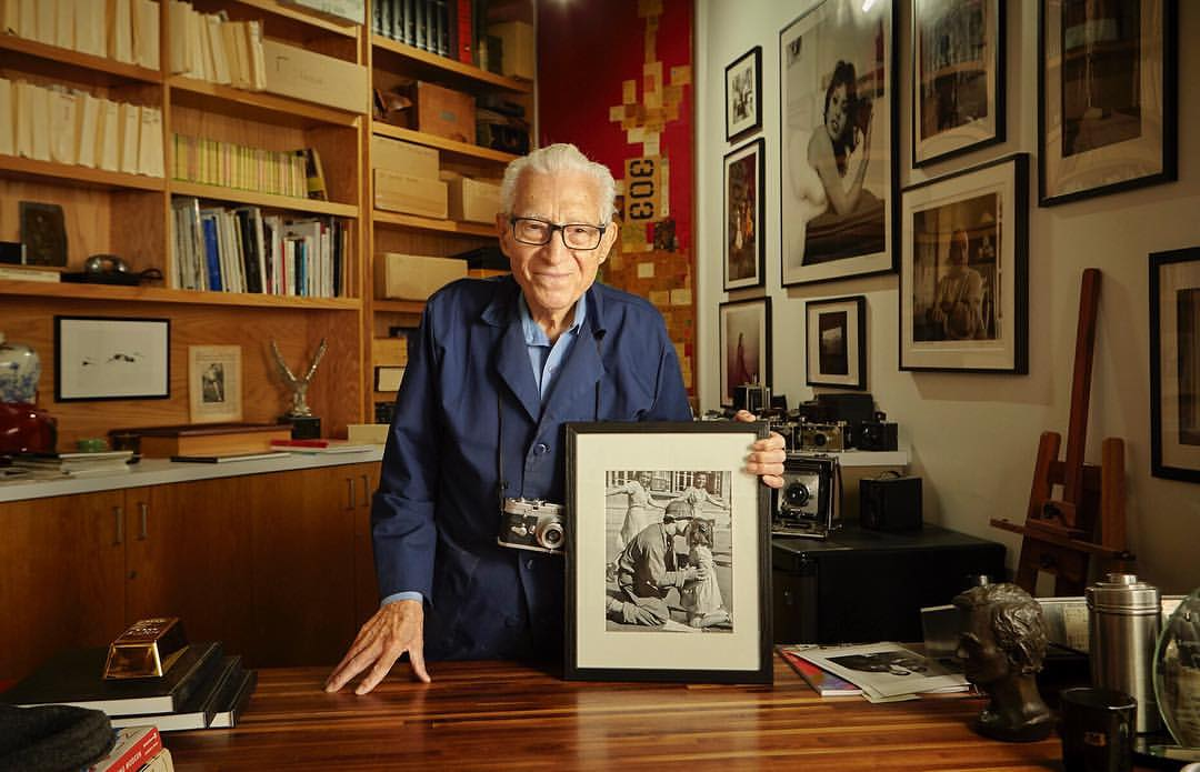 World War II photographer Tony Vaccaro. © James Salzano