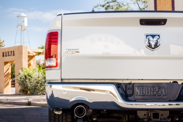 Marfa / 1500 Laramie / detail / rear